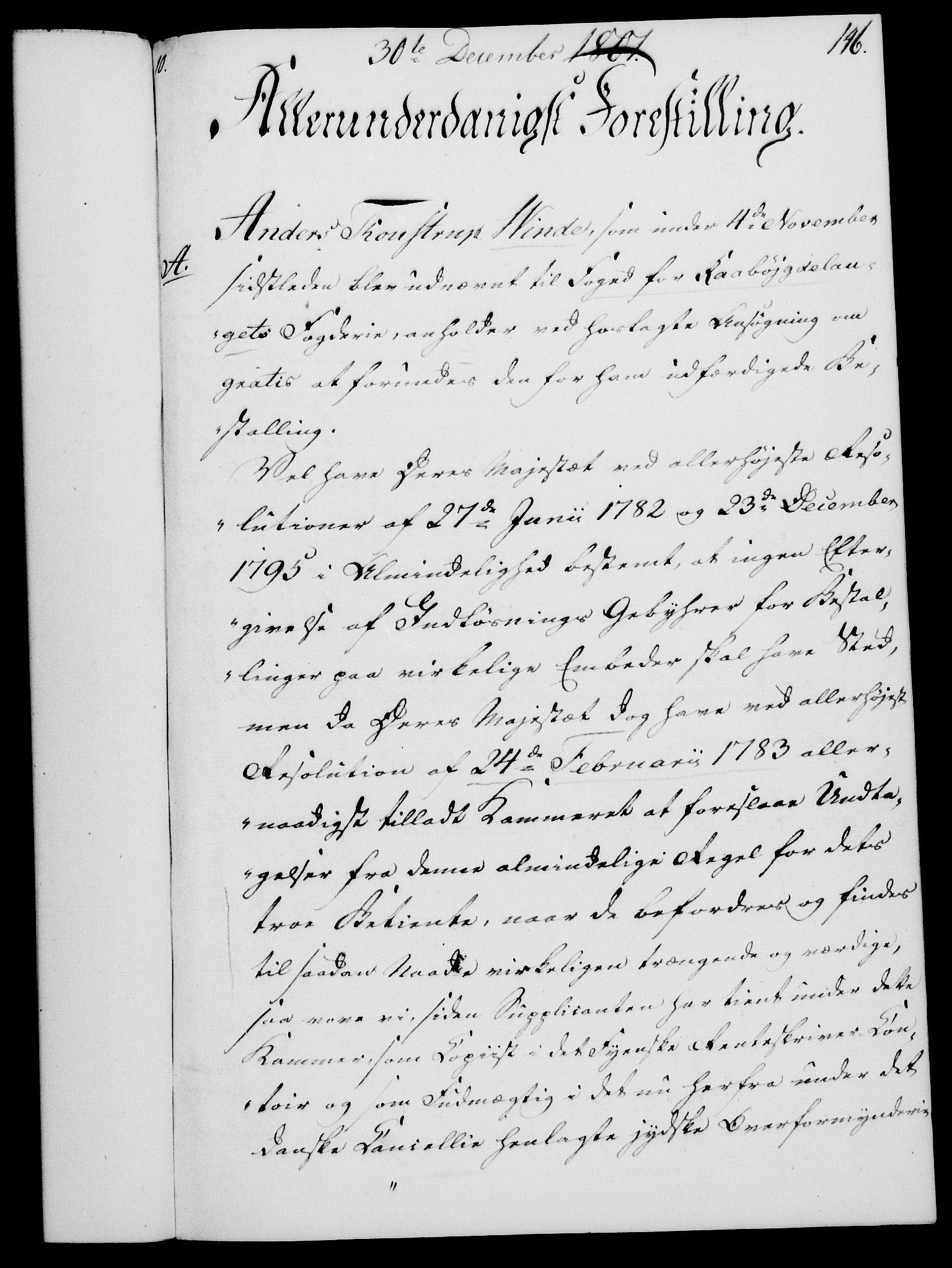 RA, Rentekammeret, Kammerkanselliet, G/Gf/Gfa/L0083: Norsk relasjons- og resolusjonsprotokoll (merket RK 52.83), 1801, s. 815