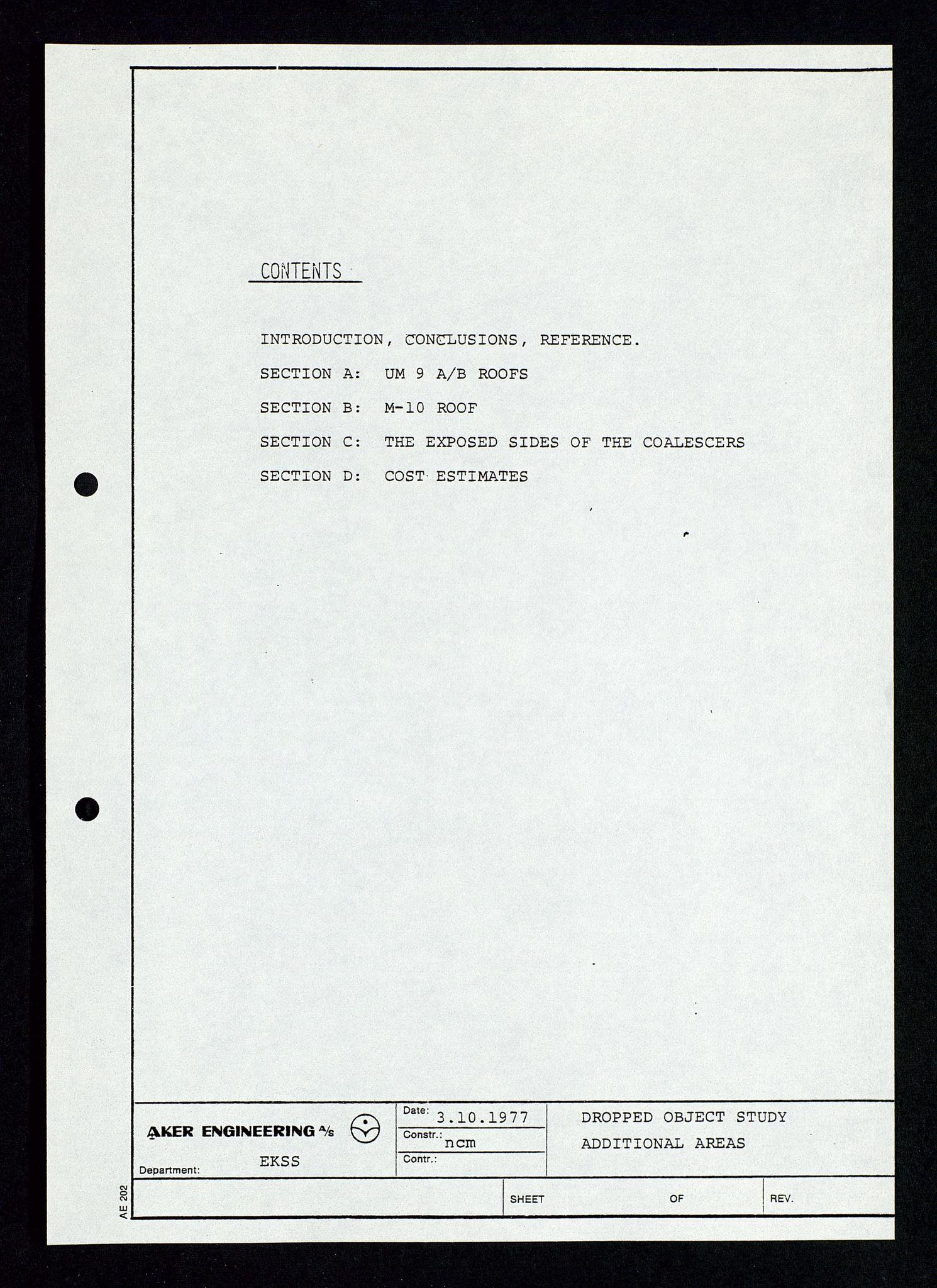 SAST, Pa 1339 - Statoil ASA, D/Dm/L0348: Gravitasjonsplattform betong, 1975-1978, s. 187