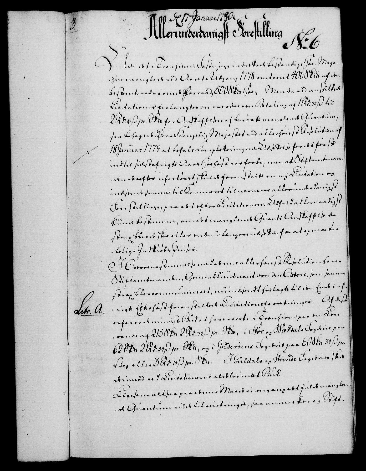 RA, Rentekammeret, Kammerkanselliet, G/Gf/Gfa/L0062: Norsk relasjons- og resolusjonsprotokoll (merket RK 52.62), 1780, s. 56