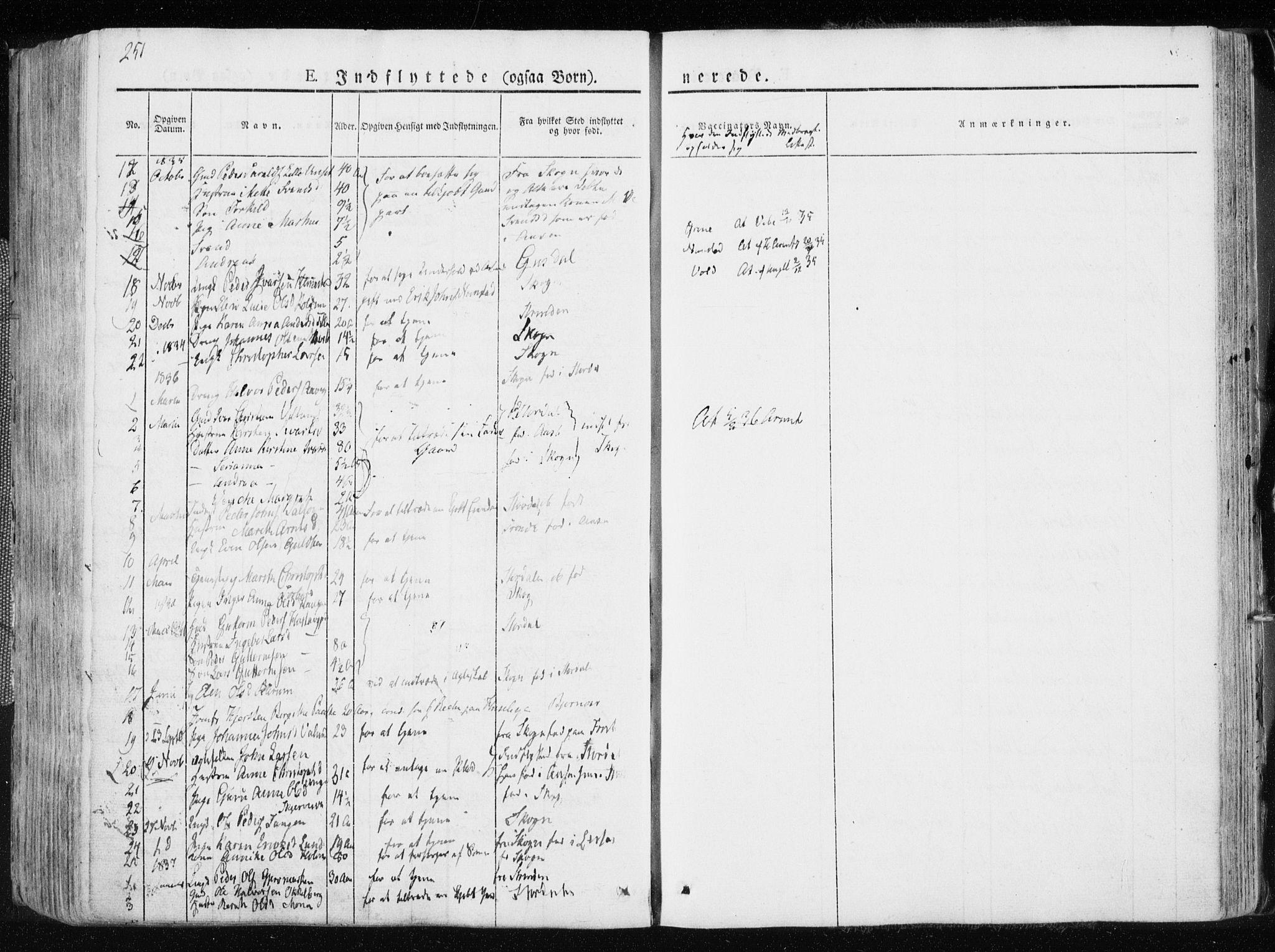 SAT, Ministerialprotokoller, klokkerbøker og fødselsregistre - Nord-Trøndelag, 713/L0114: Ministerialbok nr. 713A05, 1827-1839, s. 251