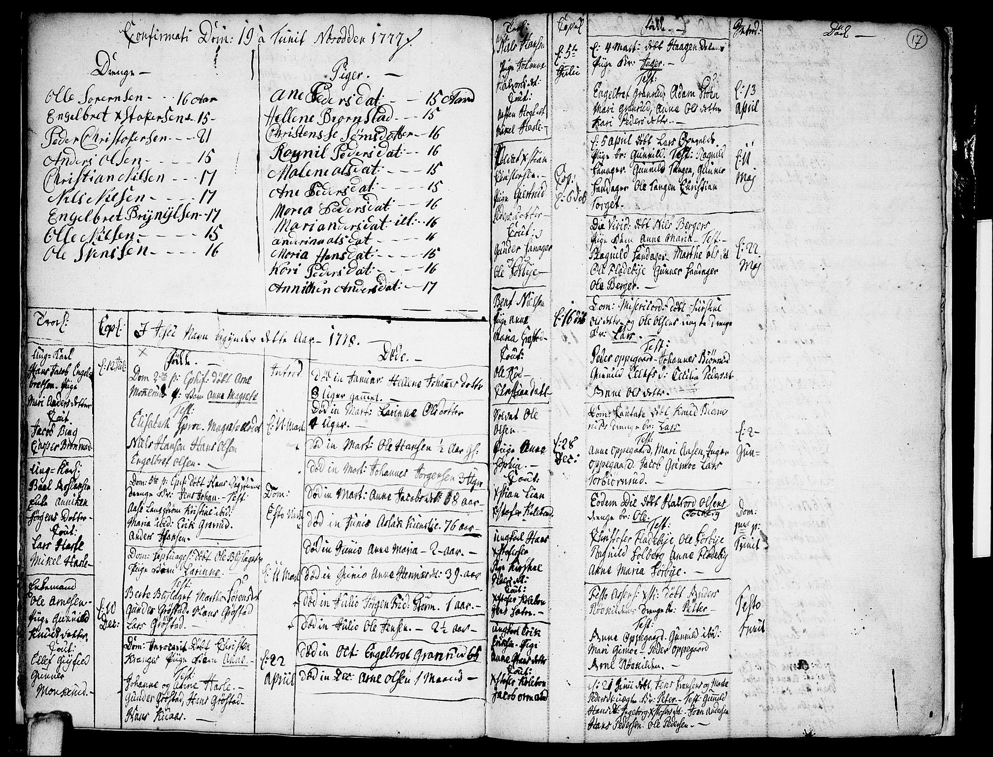 SAO, Nesodden prestekontor Kirkebøker, F/Fa/L0003: Ministerialbok nr. I 3, 1769-1780, s. 17