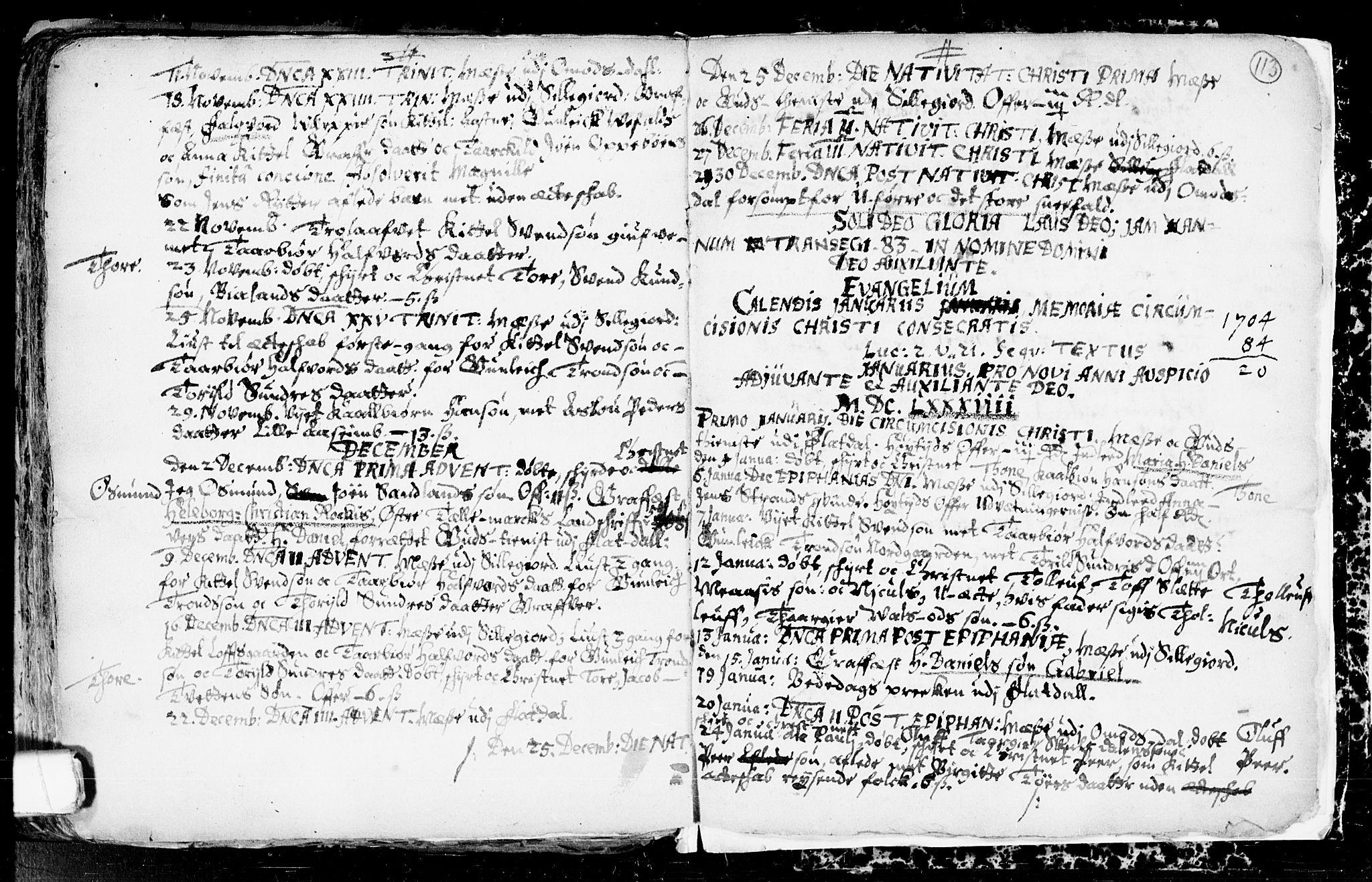SAKO, Seljord kirkebøker, F/Fa/L0001: Ministerialbok nr. I 1, 1654-1686, s. 113