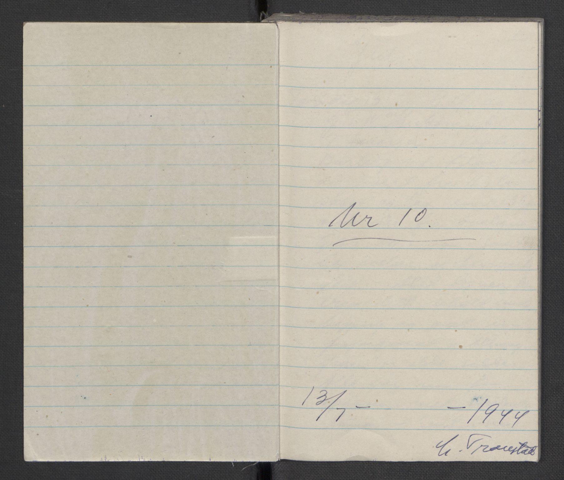 RA, Tronstad, Leif, F/L0001: Dagbøker, 1941-1945, s. 741