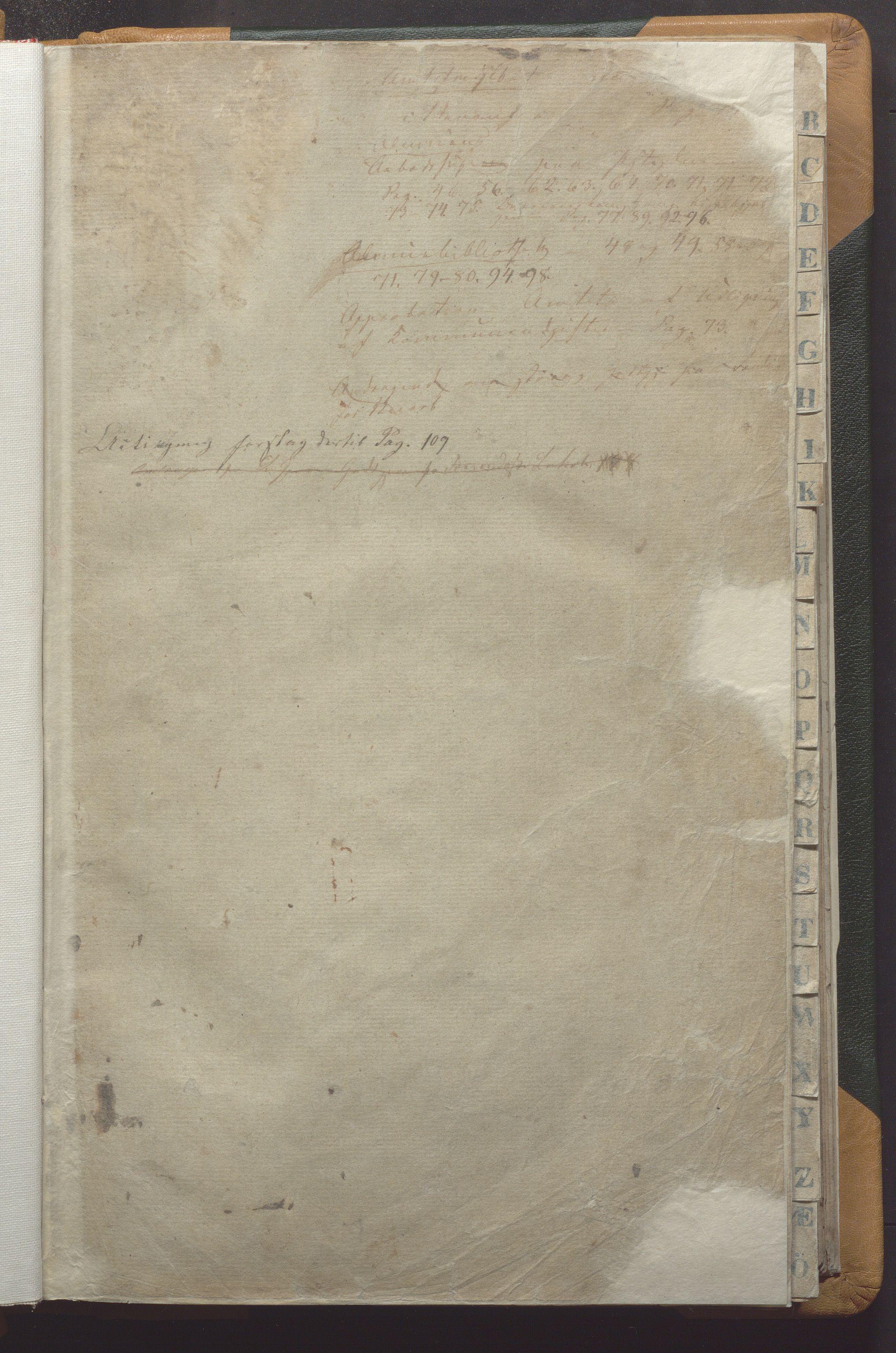 IKAR, Vikedal kommune - Formannskapet, Aaa/L0001: Møtebok, 1837-1874, s. 1