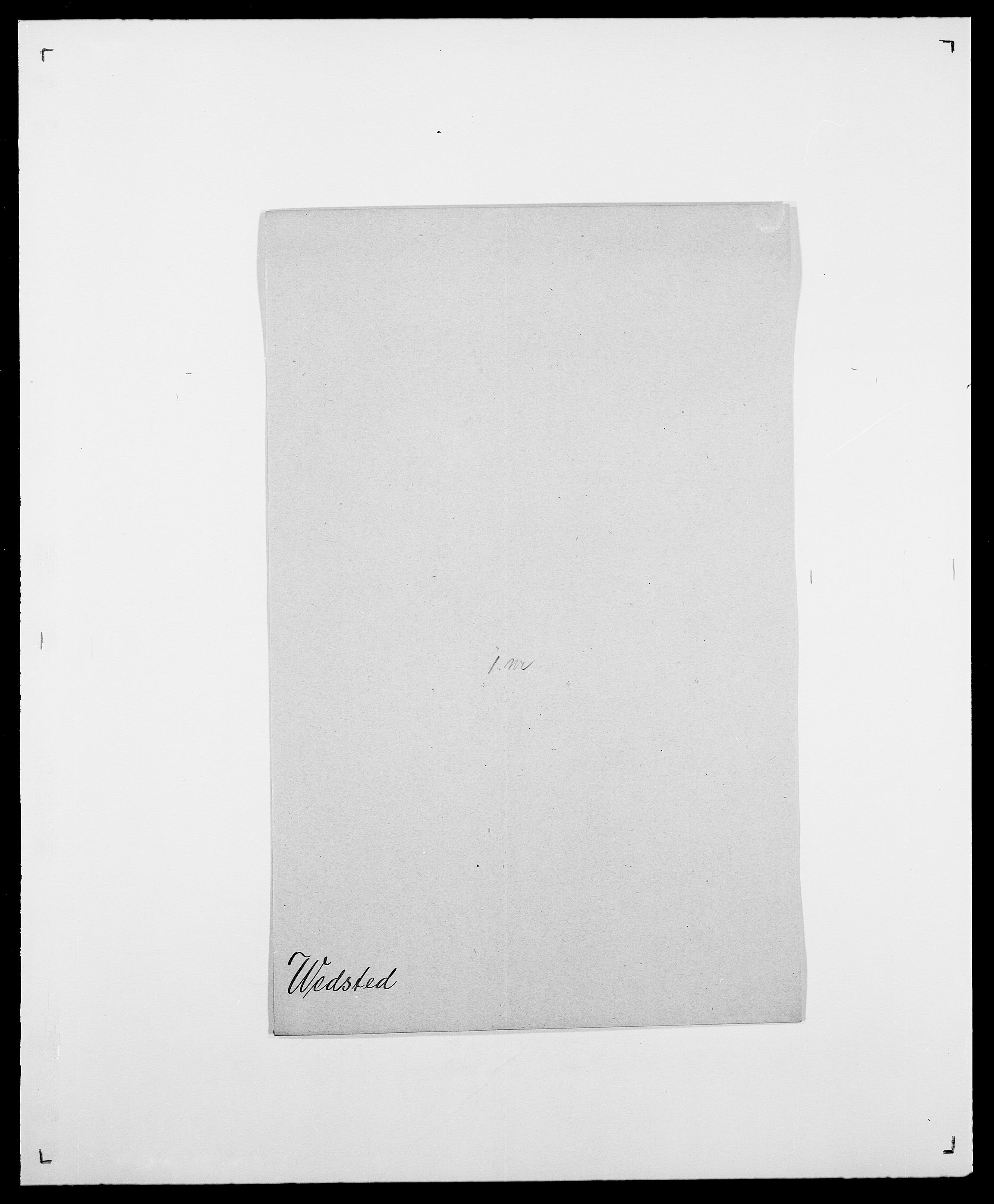 SAO, Delgobe, Charles Antoine - samling, D/Da/L0040: Usgaard - Velund, s. 474