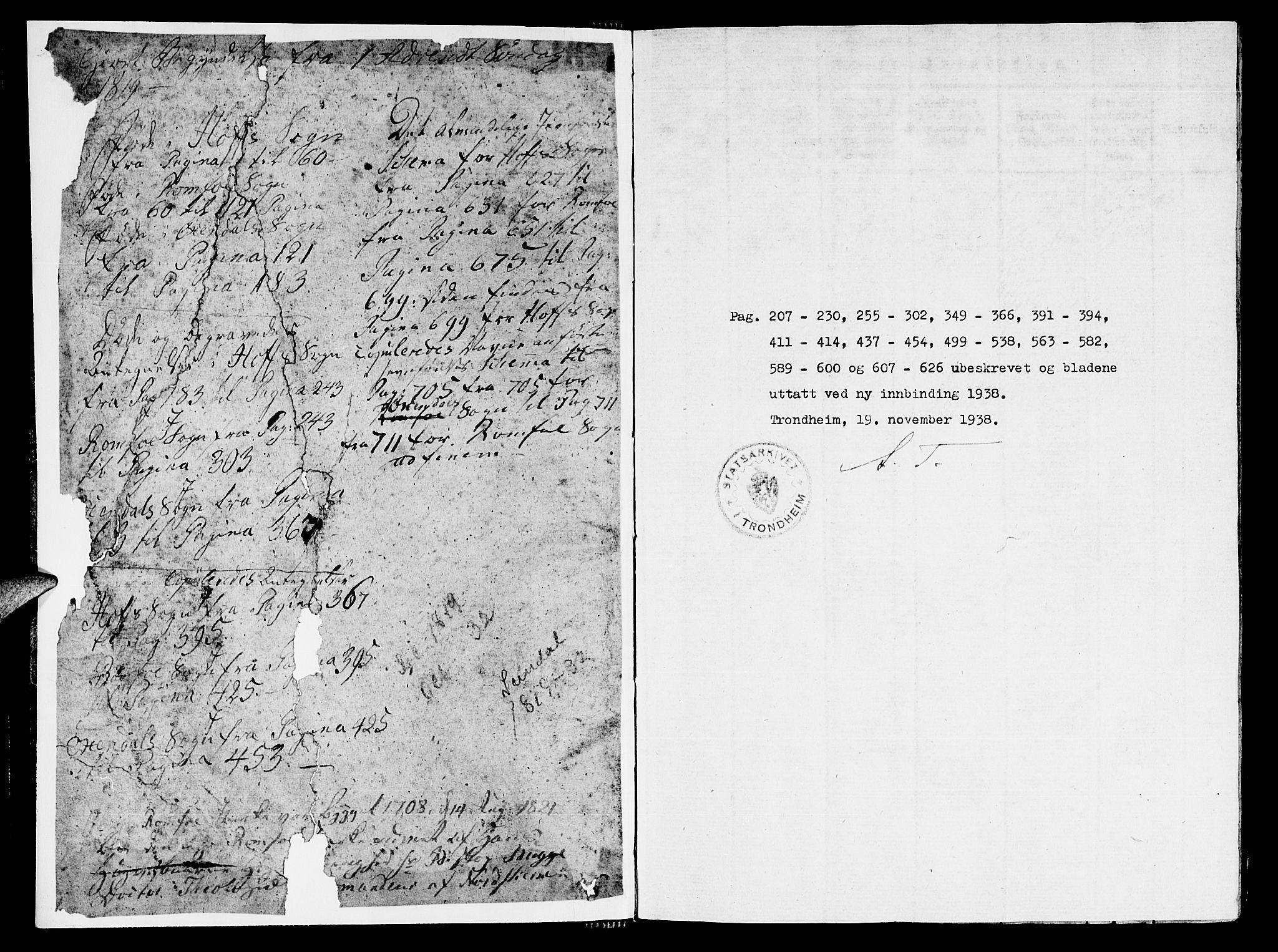 SAT, Ministerialprotokoller, klokkerbøker og fødselsregistre - Møre og Romsdal, 590/L1009: Ministerialbok nr. 590A03 /1, 1819-1832
