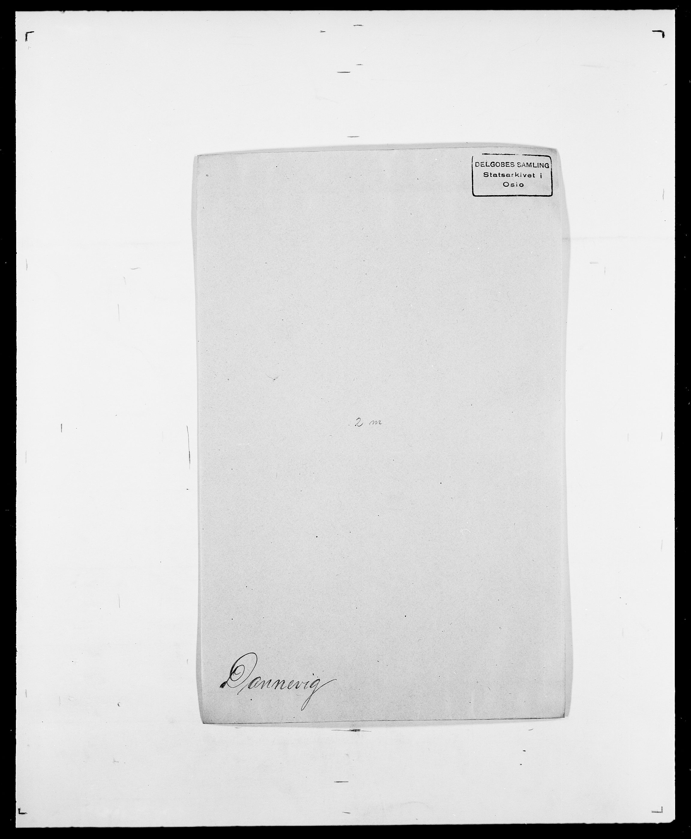 SAO, Delgobe, Charles Antoine - samling, D/Da/L0009: Dahl - v. Düren, s. 323