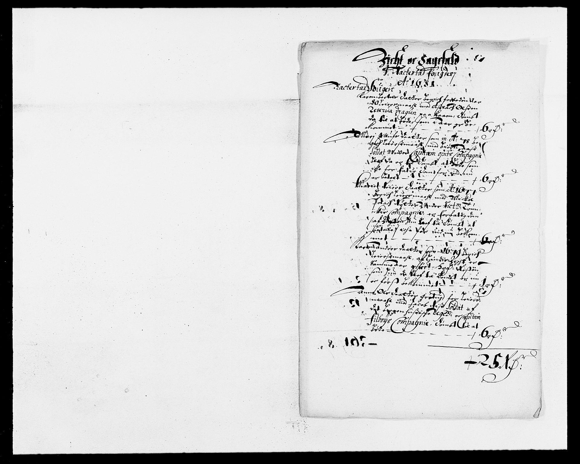 RA, Rentekammeret inntil 1814, Reviderte regnskaper, Fogderegnskap, R05/L0272: Fogderegnskap Rakkestad, 1680-1681, s. 249