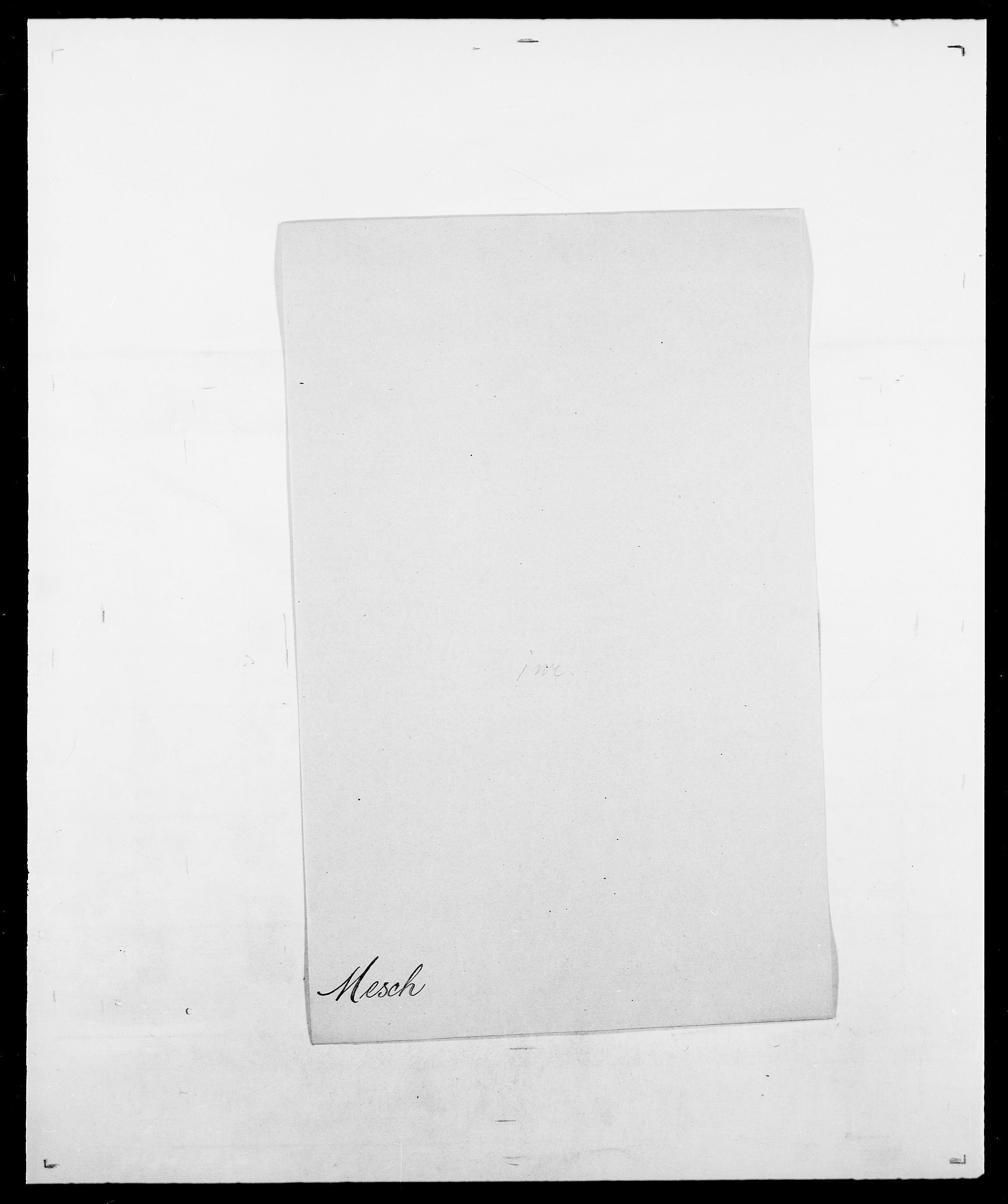 SAO, Delgobe, Charles Antoine - samling, D/Da/L0026: Mechelby - Montoppidan, s. 331