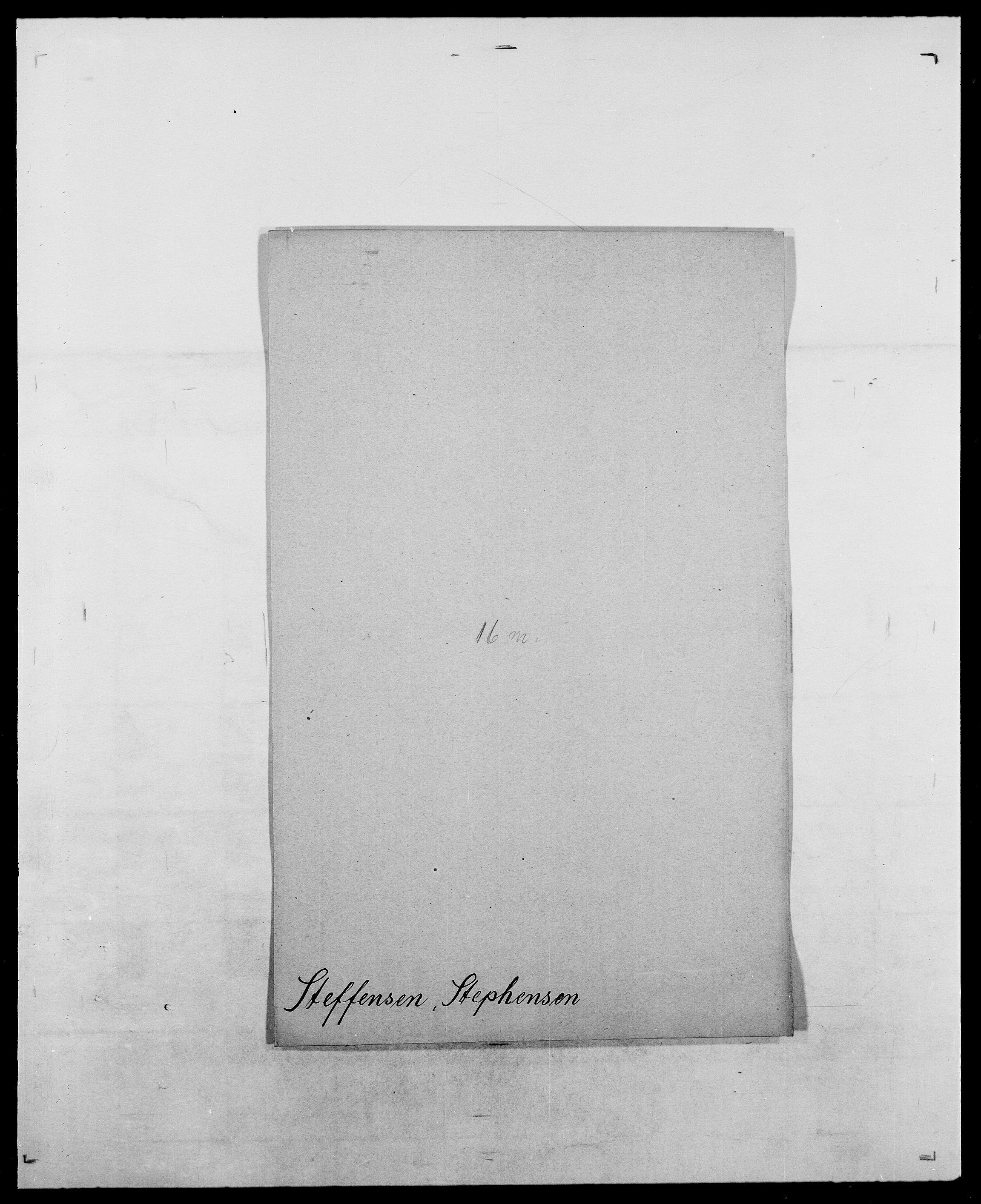 SAO, Delgobe, Charles Antoine - samling, D/Da/L0037: Steen, Sthen, Stein - Svare, Svanige, Svanne, se også Svanning og Schwane, s. 233