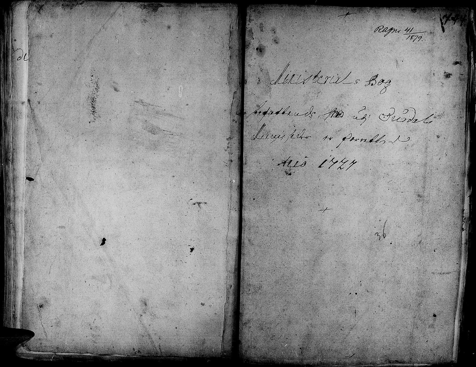SAH, Aurdal prestekontor, Ministerialbok nr. 1-3, 1692-1730, s. 744