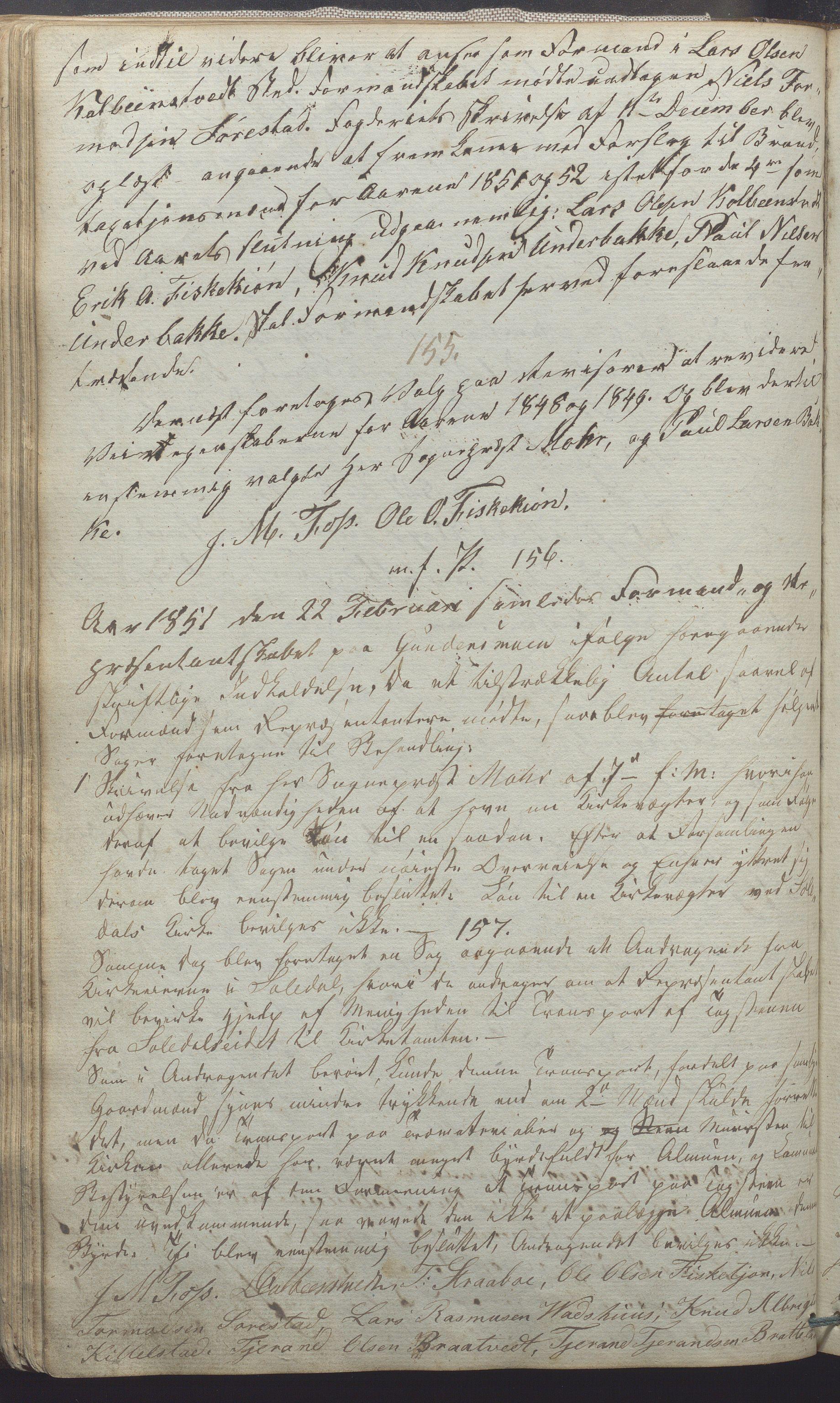 IKAR, Suldal kommune - Formannskapet/Rådmannen, A/Aa/L0001: Møtebok, 1837-1876, s. 88b