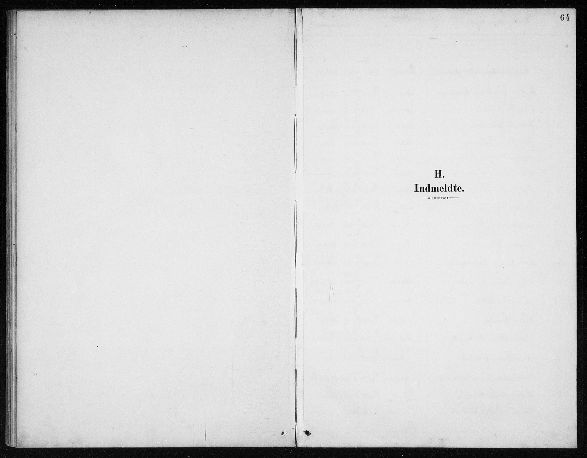 SAB, Manger Sokneprestembete, H/Haa: Ministerialbok nr. E  2, 1891-1902, s. 64
