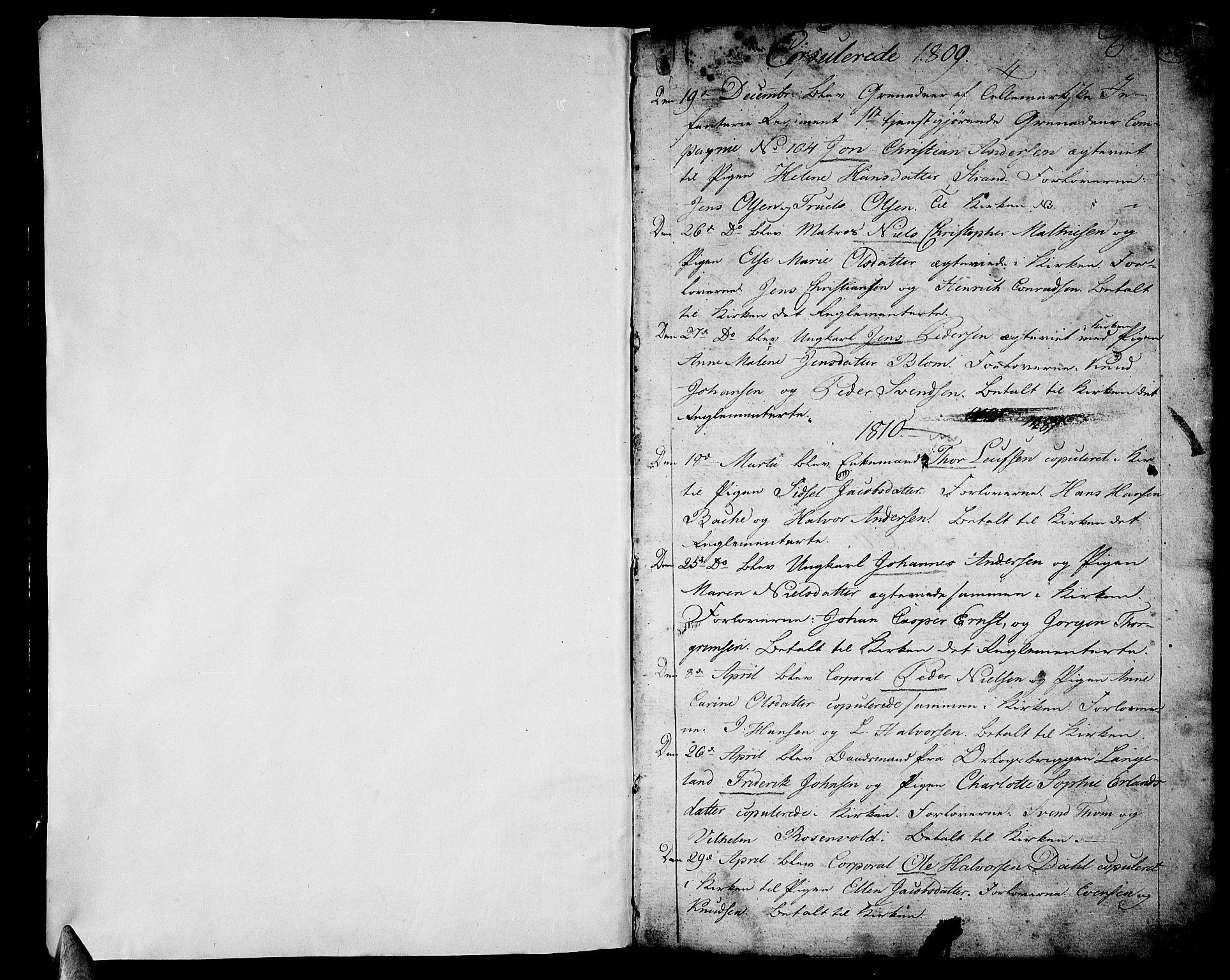SAKO, Stavern kirkebøker, F/Fa/L0004: Ministerialbok nr. 4, 1809-1816, s. 556-557