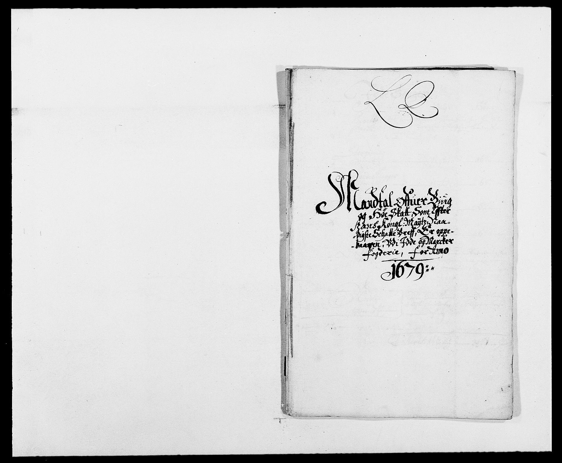 RA, Rentekammeret inntil 1814, Reviderte regnskaper, Fogderegnskap, R01/L0001: Fogderegnskap Idd og Marker, 1678-1679, s. 401