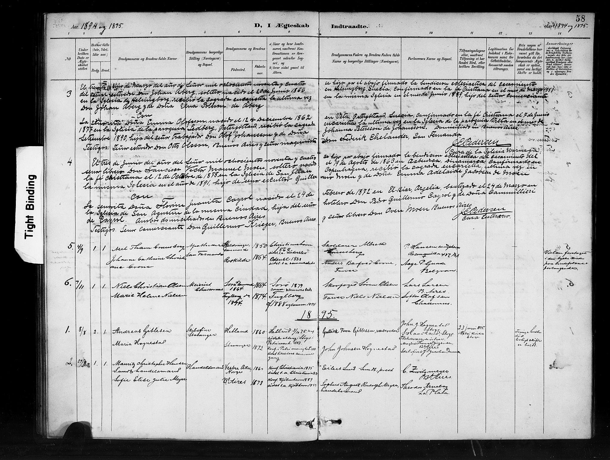SAB, Den Norske Sjømannsmisjon i utlandet*, Ministerialbok nr. A 1, 1888-1898, s. 58