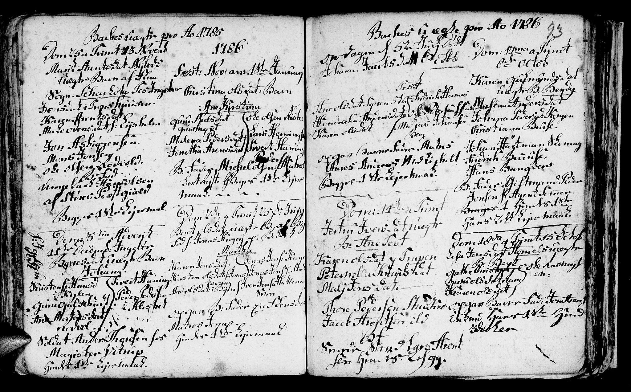 SAT, Ministerialprotokoller, klokkerbøker og fødselsregistre - Sør-Trøndelag, 604/L0218: Klokkerbok nr. 604C01, 1754-1819, s. 93