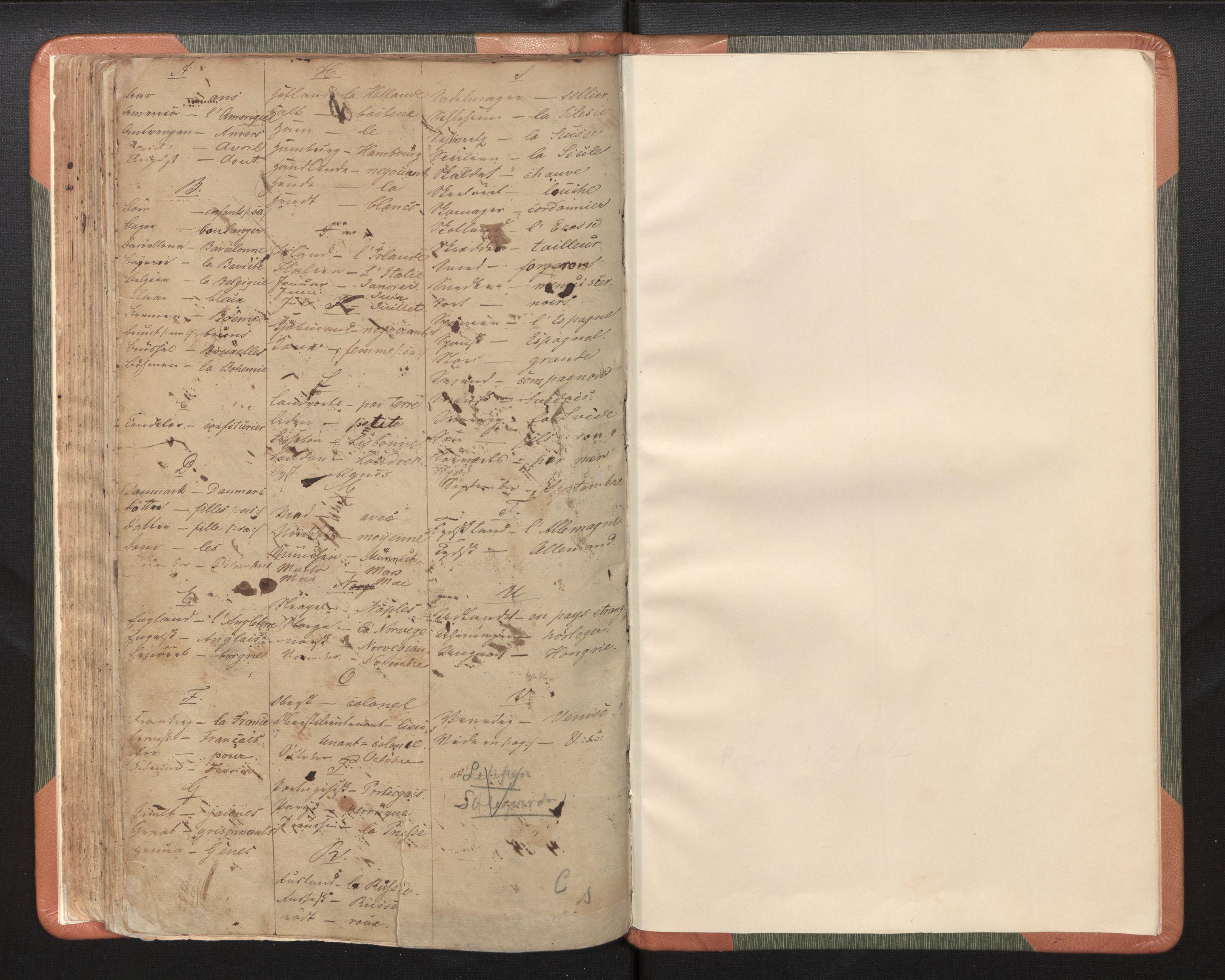 SAB, Bergen Politidistrikt, L.a/L.ab/L0004: Passprotokoll, 1842-1848