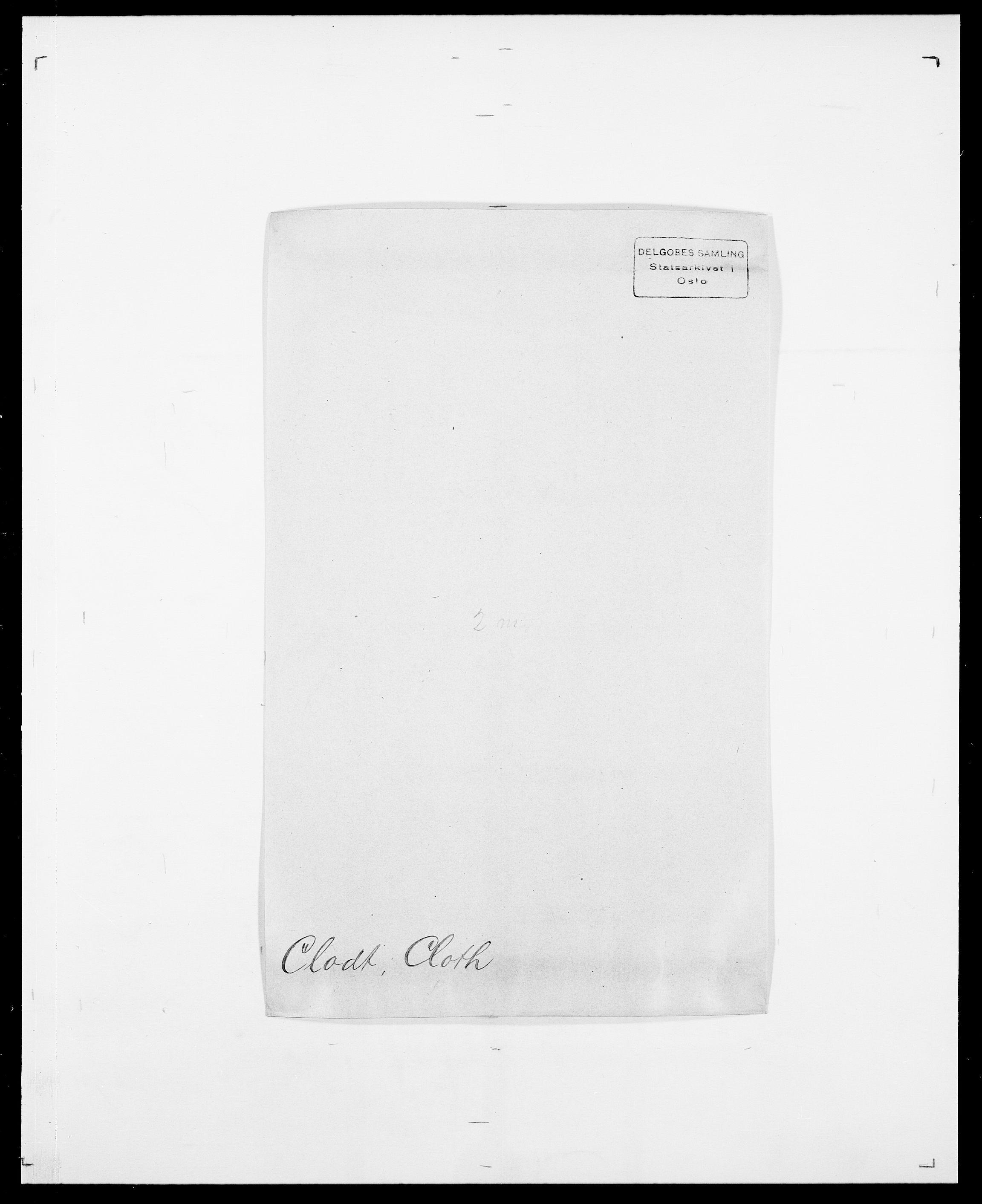SAO, Delgobe, Charles Antoine - samling, D/Da/L0008: Capjon - Dagenbolt, s. 383