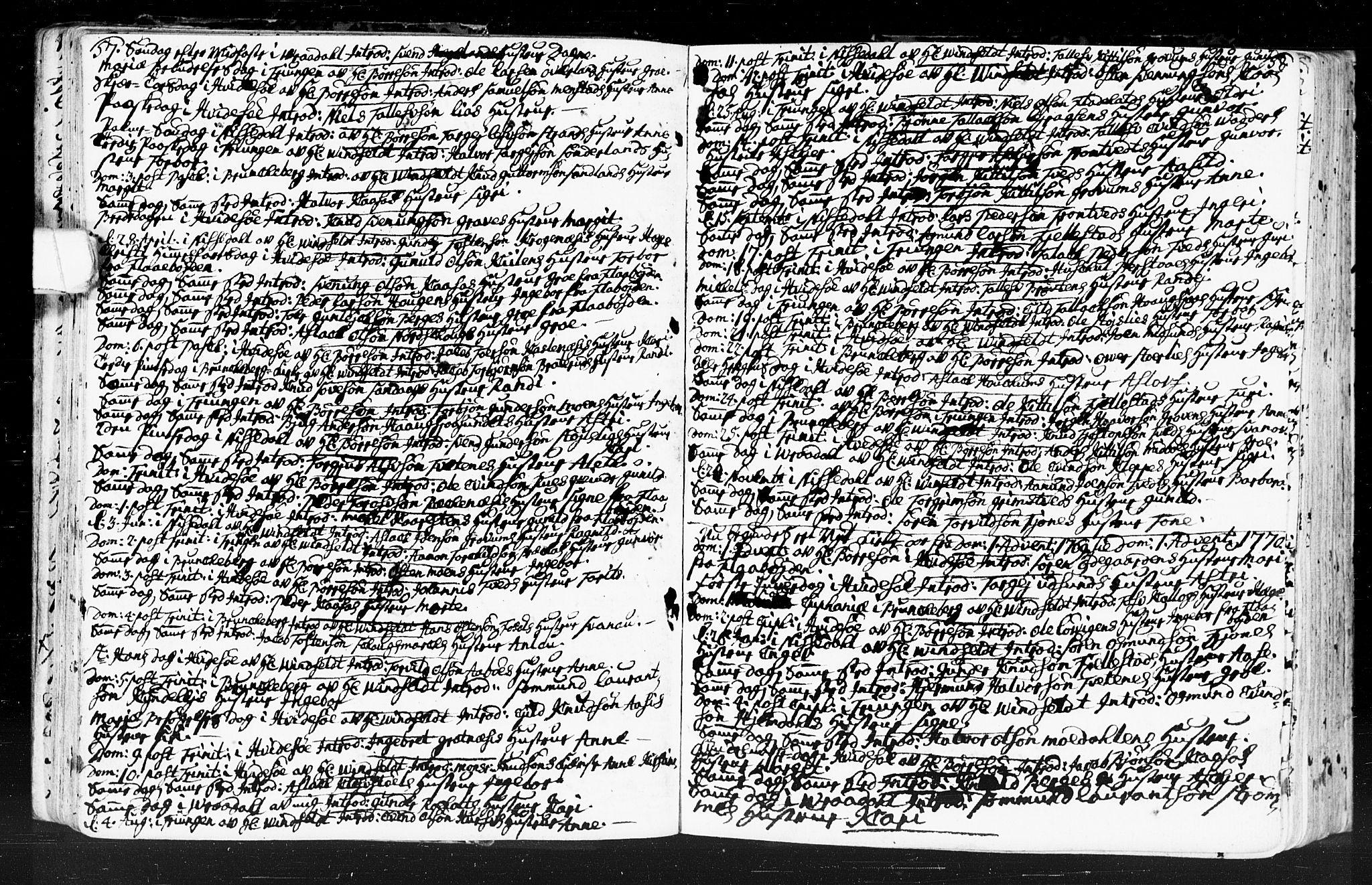 SAKO, Kviteseid kirkebøker, F/Fa/L0001: Ministerialbok nr. I 1, 1754-1773, s. 57-58