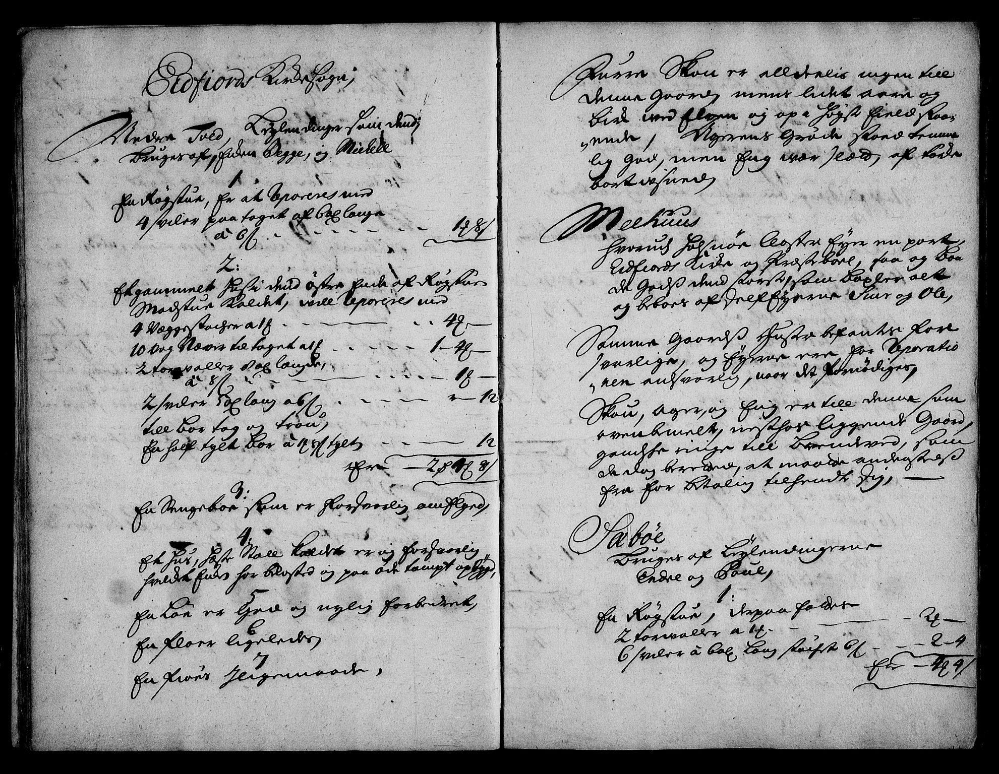 RA, Rentekammeret inntil 1814, Realistisk ordnet avdeling, On/L0003: [Jj 4]: Kommisjonsforretning over Vilhelm Hanssøns forpaktning av Halsnøy klosters gods, 1721-1729, s. 76