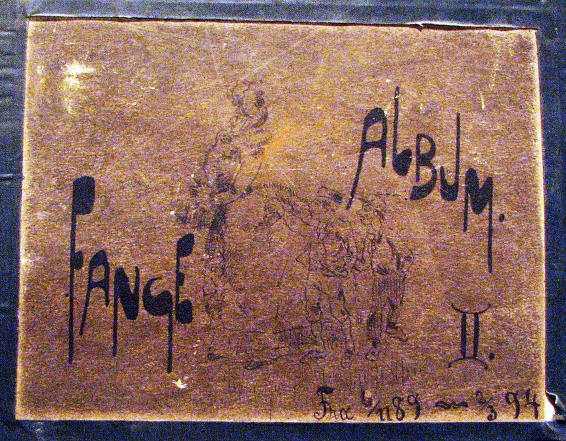 RA, Botsfengslet, U/L0062: Fangealbum (fotos), 1889-1894