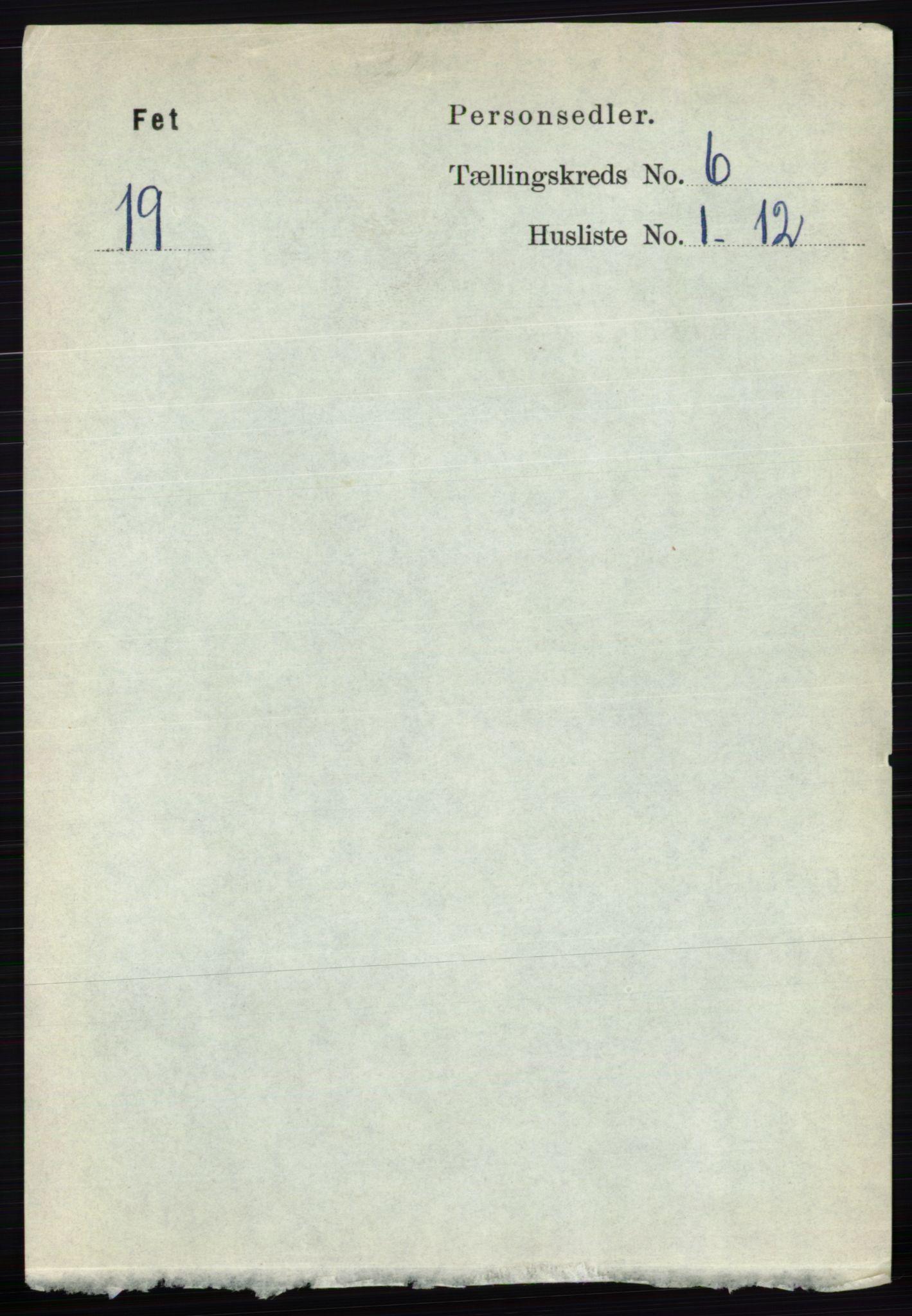 RA, Folketelling 1891 for 0227 Fet herred, 1891, s. 1935