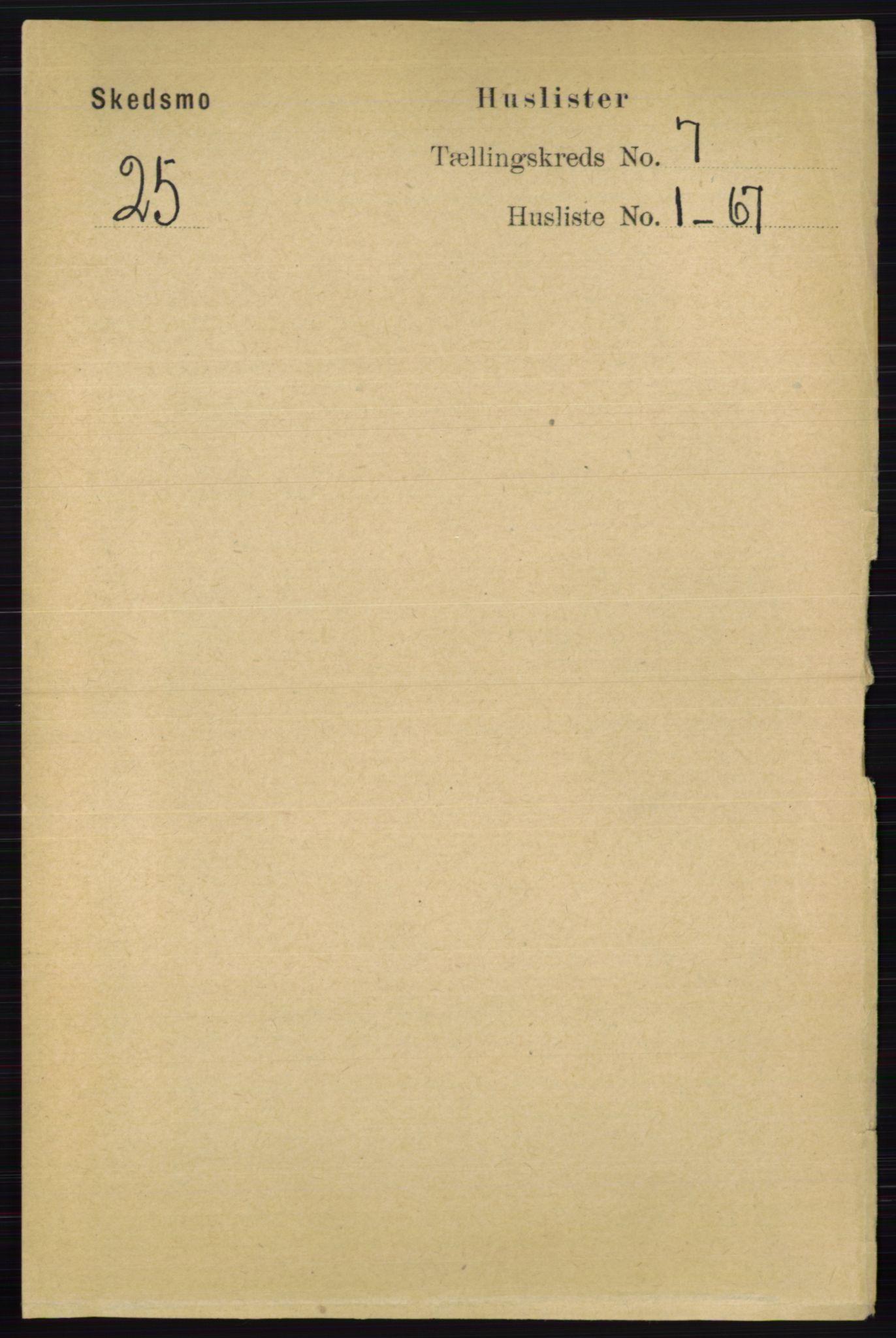 RA, Folketelling 1891 for 0231 Skedsmo herred, 1891, s. 3266