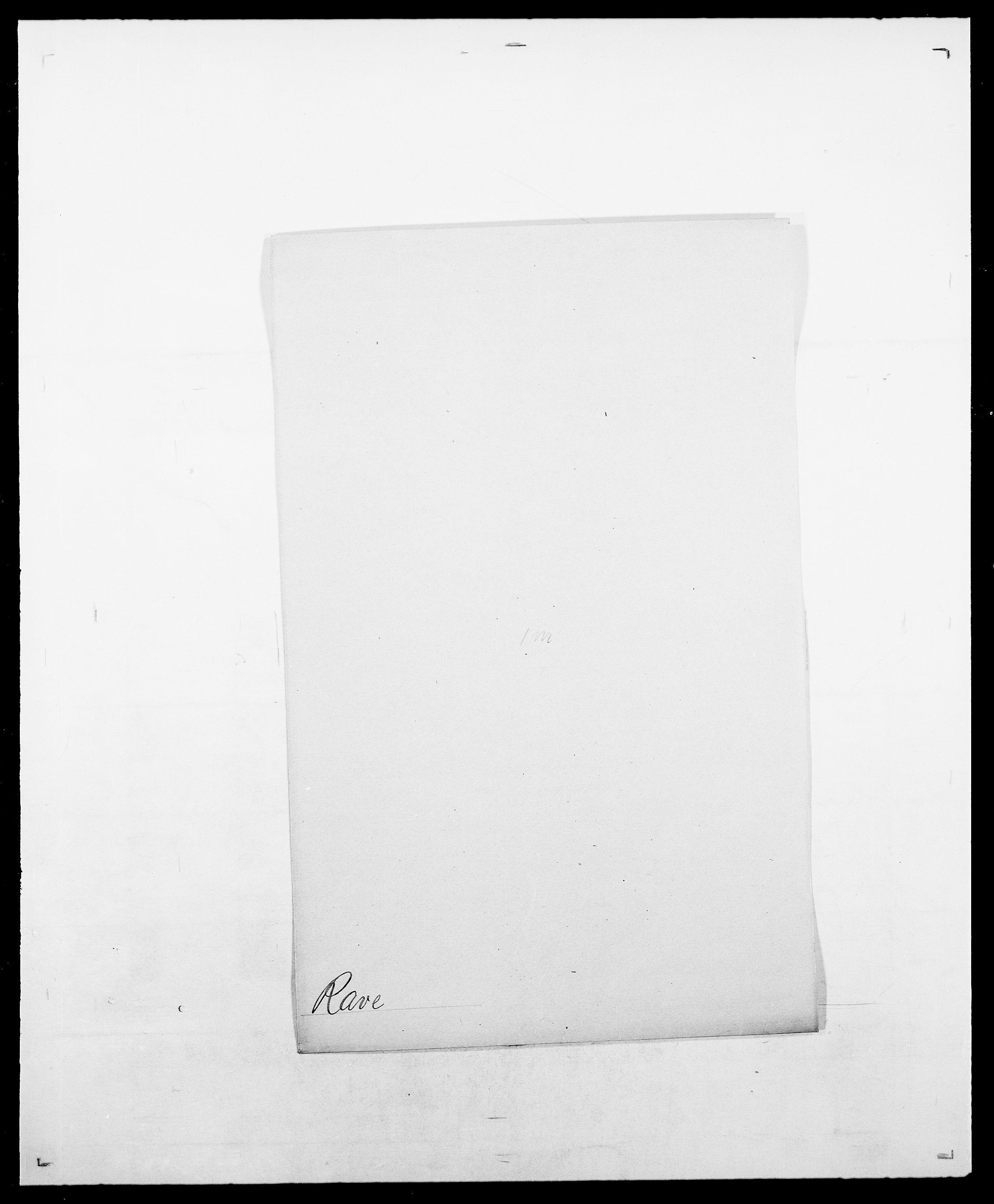 SAO, Delgobe, Charles Antoine - samling, D/Da/L0032: Rabakovsky - Rivertz, s. 200