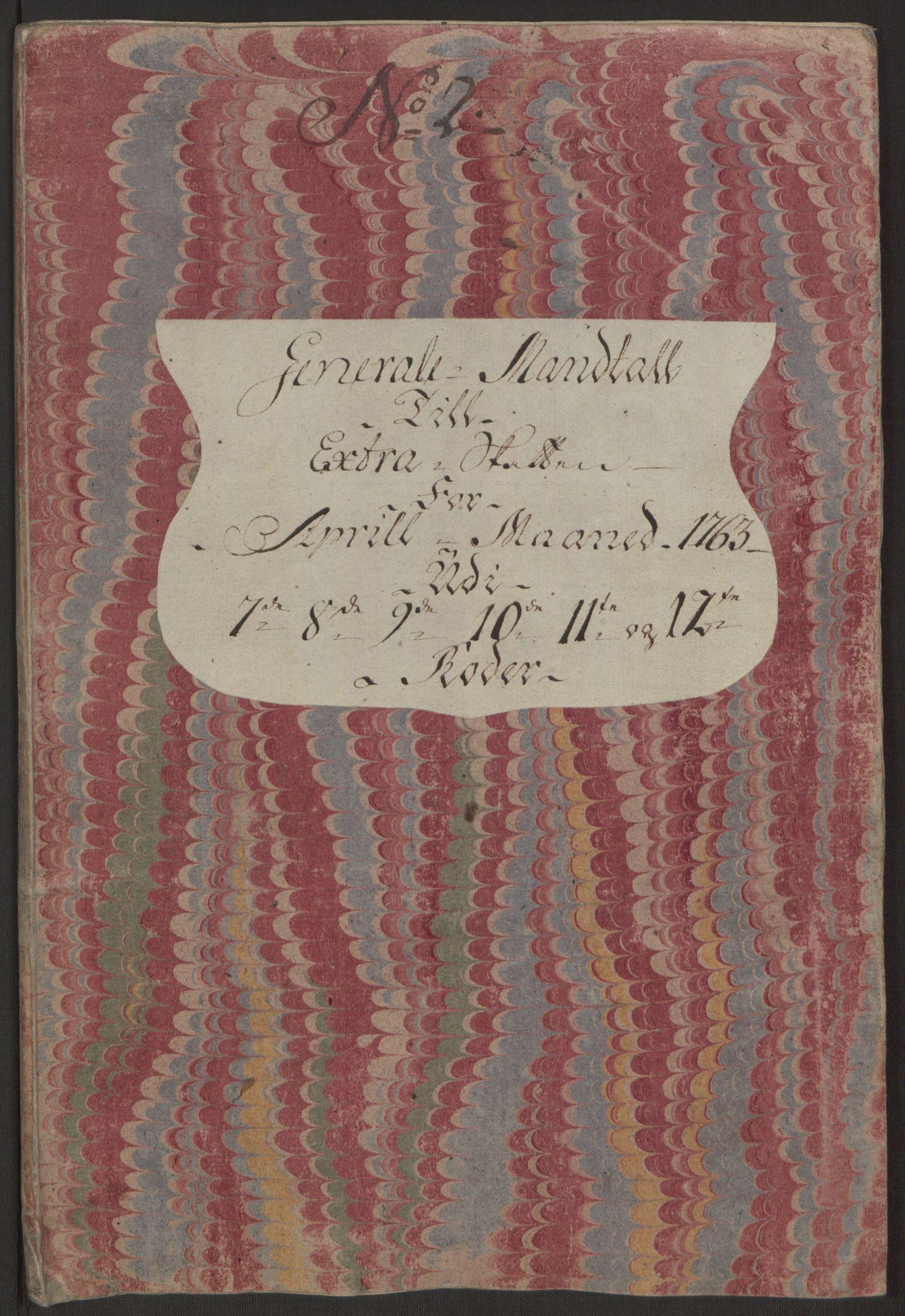 RA, Rentekammeret inntil 1814, Reviderte regnskaper, Byregnskaper, R/Rp/L0366: [P20] Kontribusjonsregnskap, 1763, s. 70