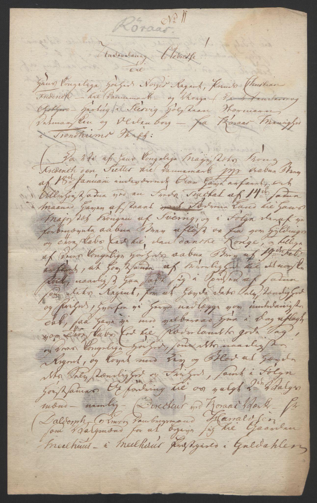 RA, Statsrådssekretariatet, D/Db/L0008: Fullmakter for Eidsvollsrepresentantene i 1814. , 1814, s. 449