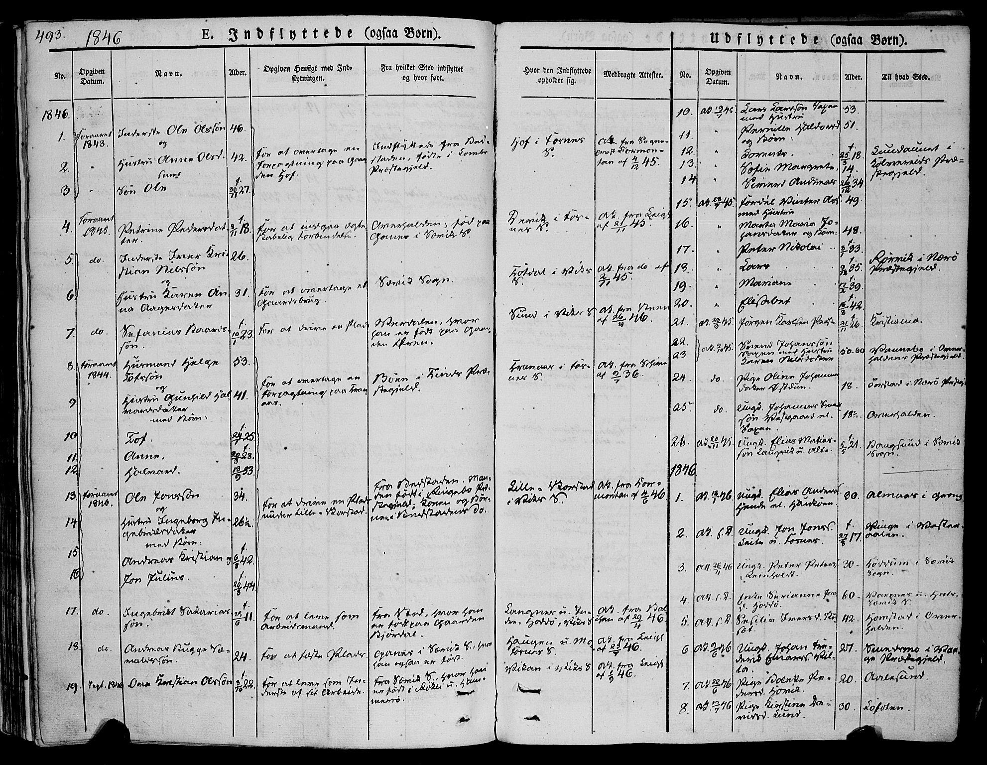 SAT, Ministerialprotokoller, klokkerbøker og fødselsregistre - Nord-Trøndelag, 773/L0614: Ministerialbok nr. 773A05, 1831-1856, s. 493