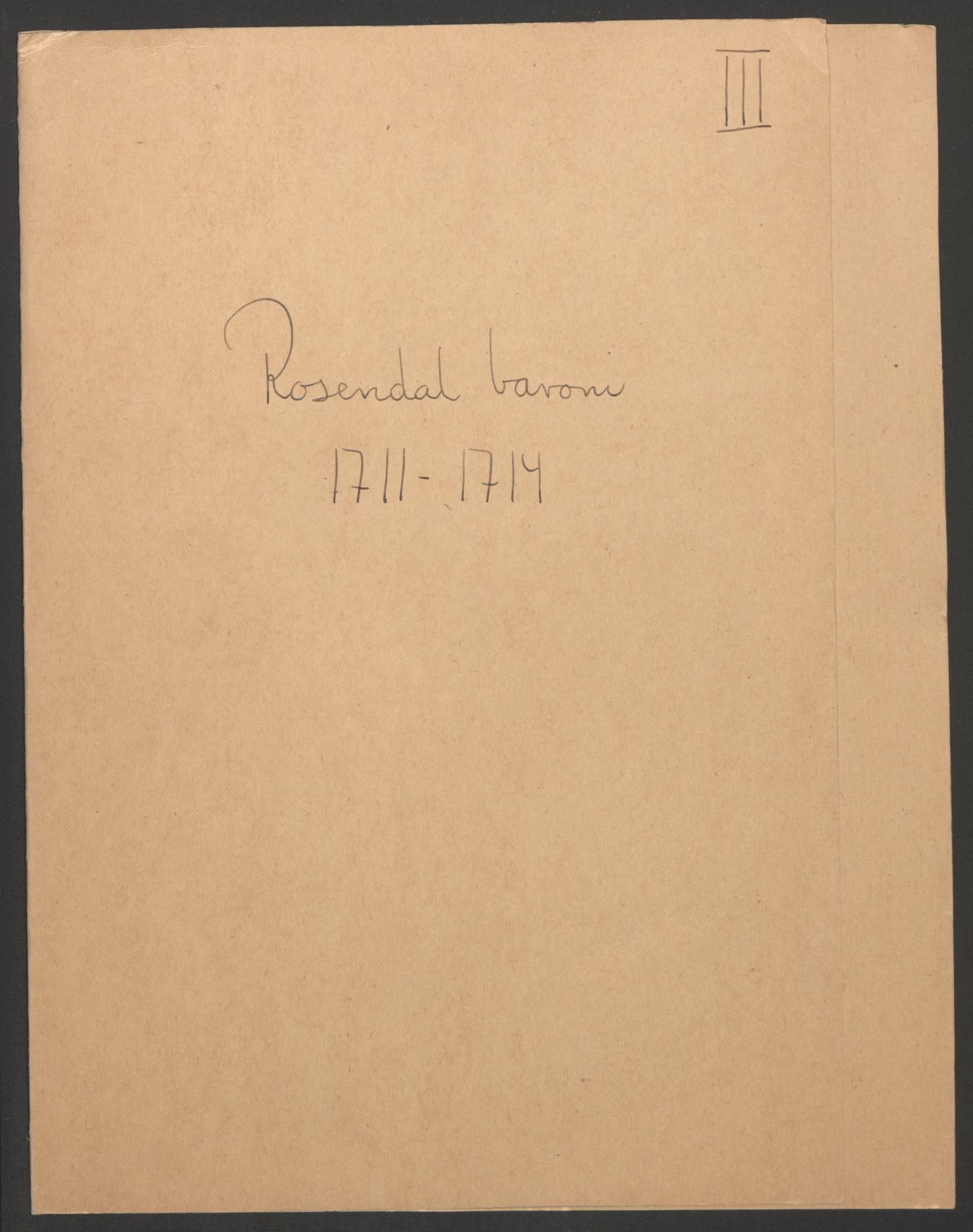 RA, Rentekammeret inntil 1814, Reviderte regnskaper, Fogderegnskap, R49/L3138: Fogderegnskap Rosendal Baroni, 1691-1714, s. 276