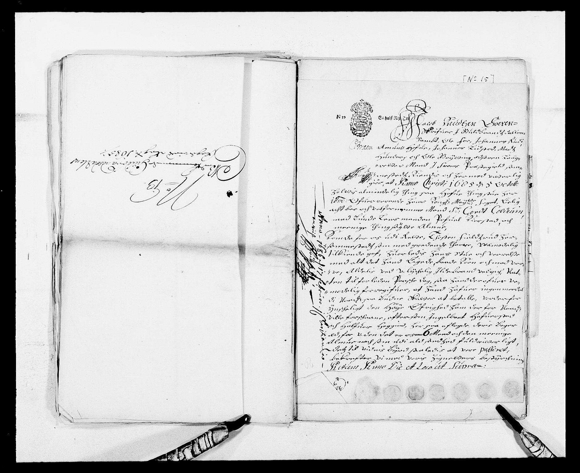 RA, Rentekammeret inntil 1814, Reviderte regnskaper, Fogderegnskap, R17/L1160: Fogderegnskap Gudbrandsdal, 1682-1689, s. 294