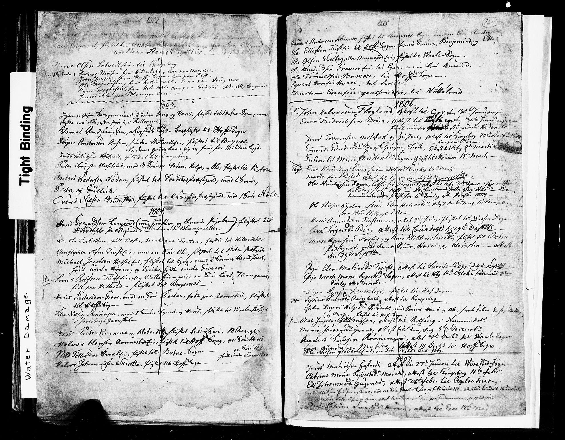 SAKO, Sandsvær kirkebøker, G/Ga/L0002: Klokkerbok nr. I 2, 1796-1817, s. 124