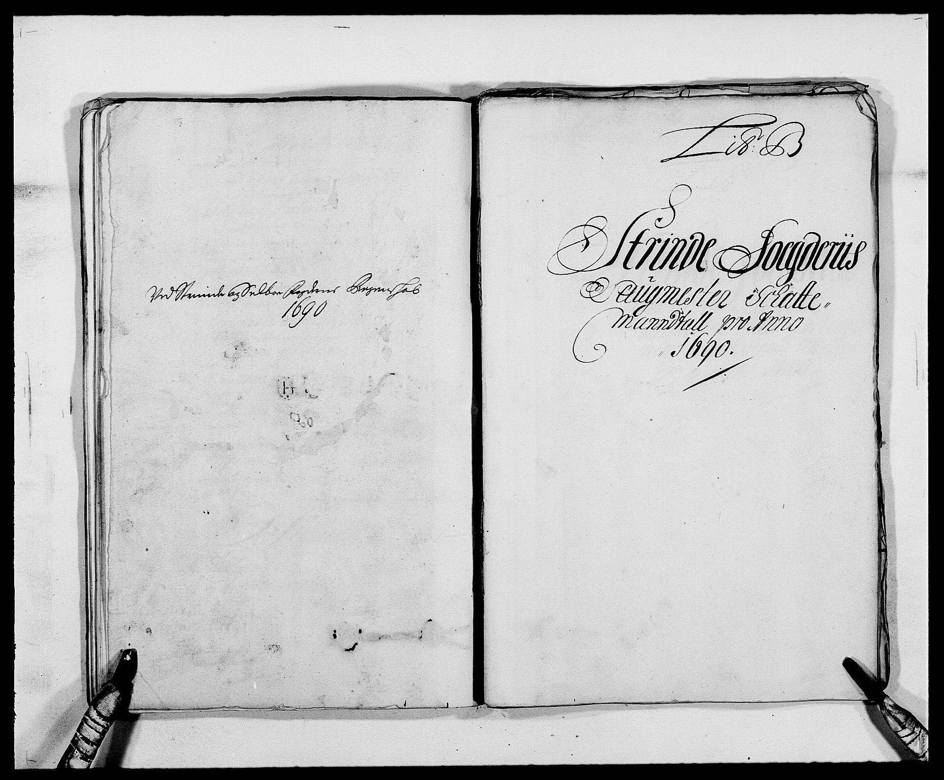 RA, Rentekammeret inntil 1814, Reviderte regnskaper, Fogderegnskap, R61/L4102: Fogderegnskap Strinda og Selbu, 1689-1690, s. 171