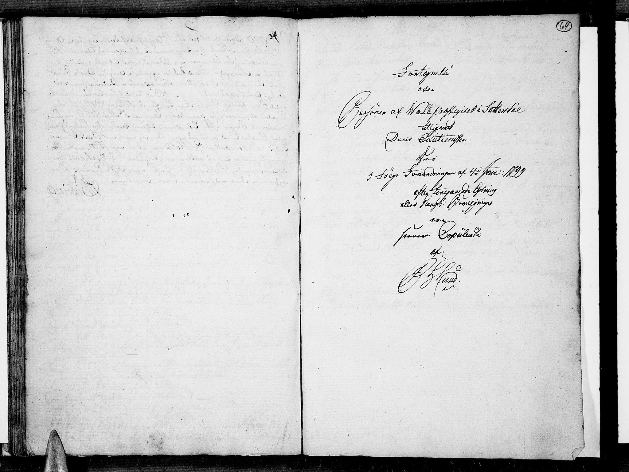 SAK, Valle sokneprestkontor, F/Fa/Fac/L0003: Ministerialbok nr. A 3, 1776-1790, s. 64
