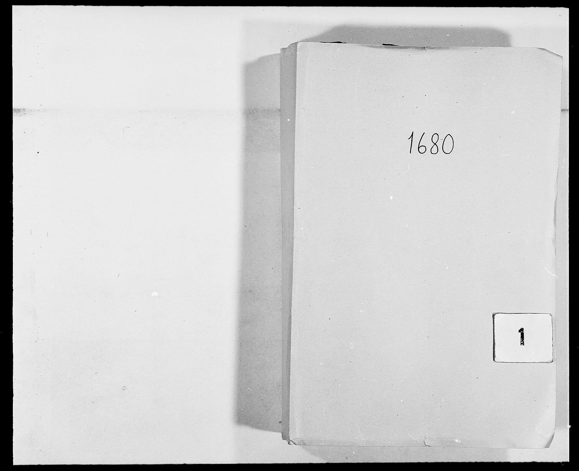 RA, Rentekammeret inntil 1814, Reviderte regnskaper, Fogderegnskap, R02/L0101: Fogderegnskap Moss og Verne kloster, 1680, s. 1