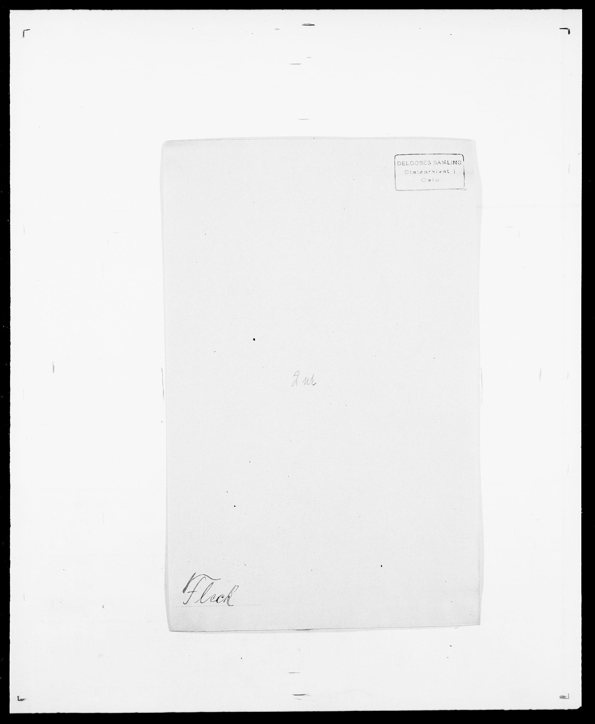 SAO, Delgobe, Charles Antoine - samling, D/Da/L0011: Fahlander - Flood, Flod, s. 582