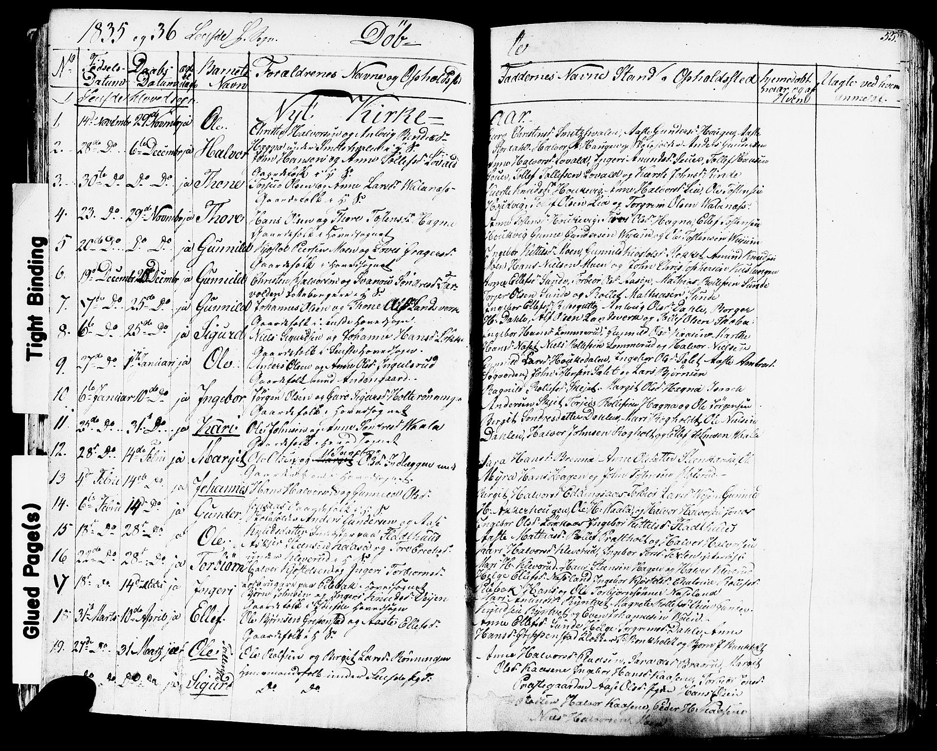 SAKO, Sauherad kirkebøker, F/Fa/L0006: Ministerialbok nr. I 6, 1827-1850, s. 55