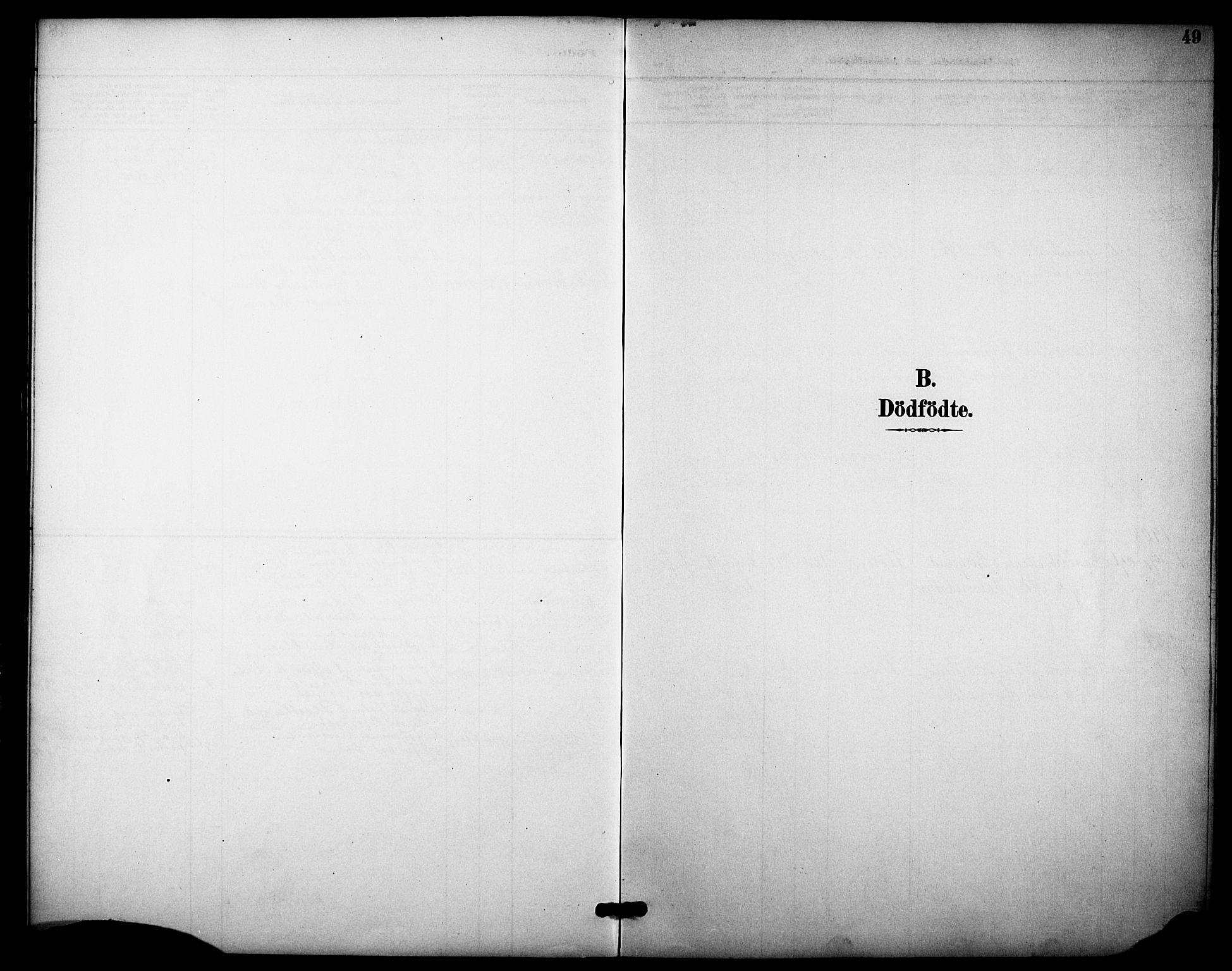 SAKO, Heddal kirkebøker, F/Fb/L0001: Ministerialbok nr. II 1, 1884-1910, s. 49