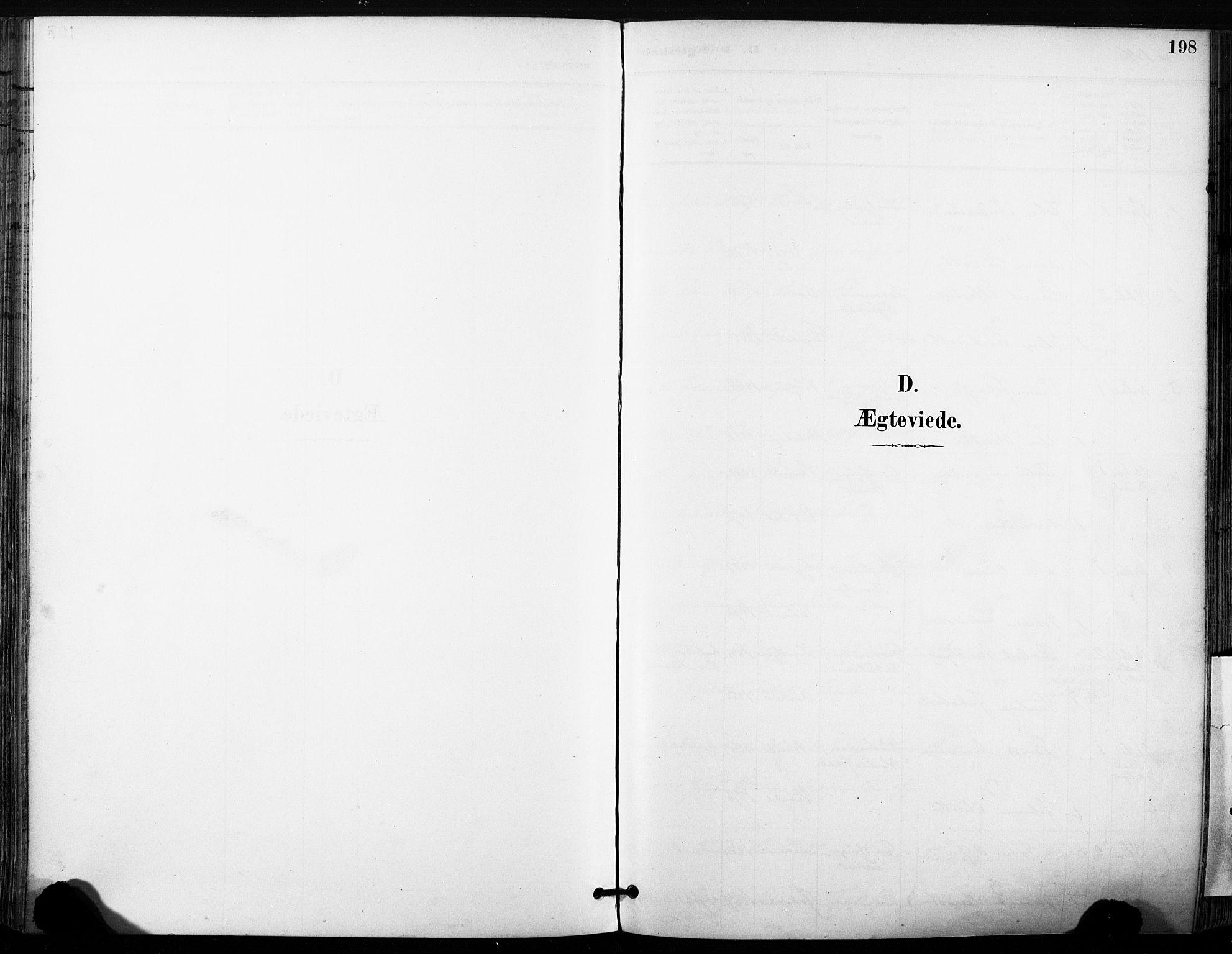 SAT, Ministerialprotokoller, klokkerbøker og fødselsregistre - Sør-Trøndelag, 630/L0497: Ministerialbok nr. 630A10, 1896-1910, s. 198