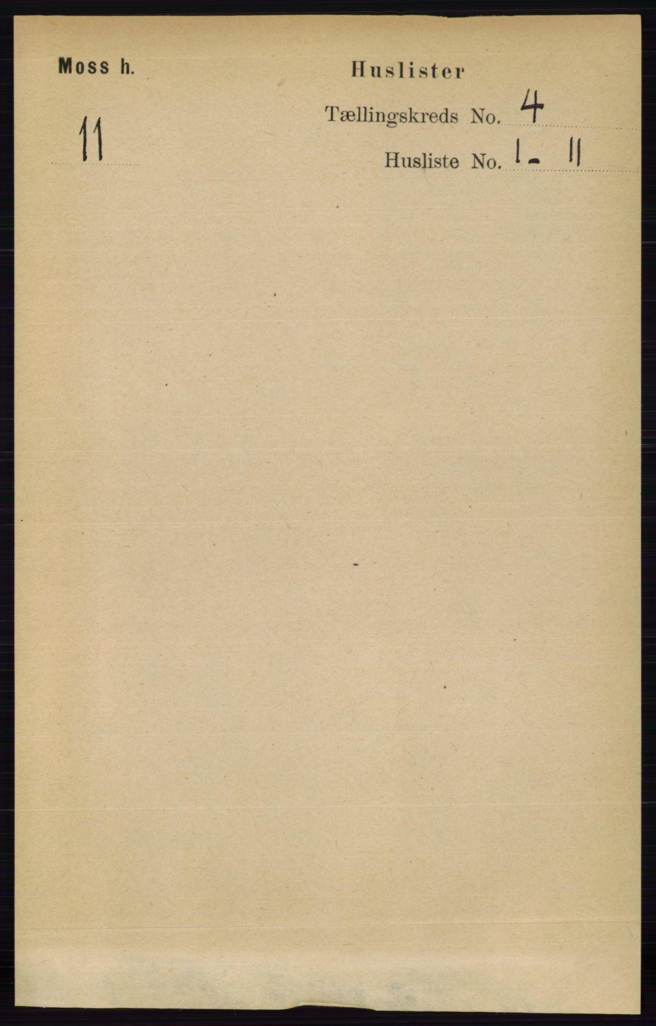 RA, Folketelling 1891 for 0194 Moss herred, 1891, s. 1298