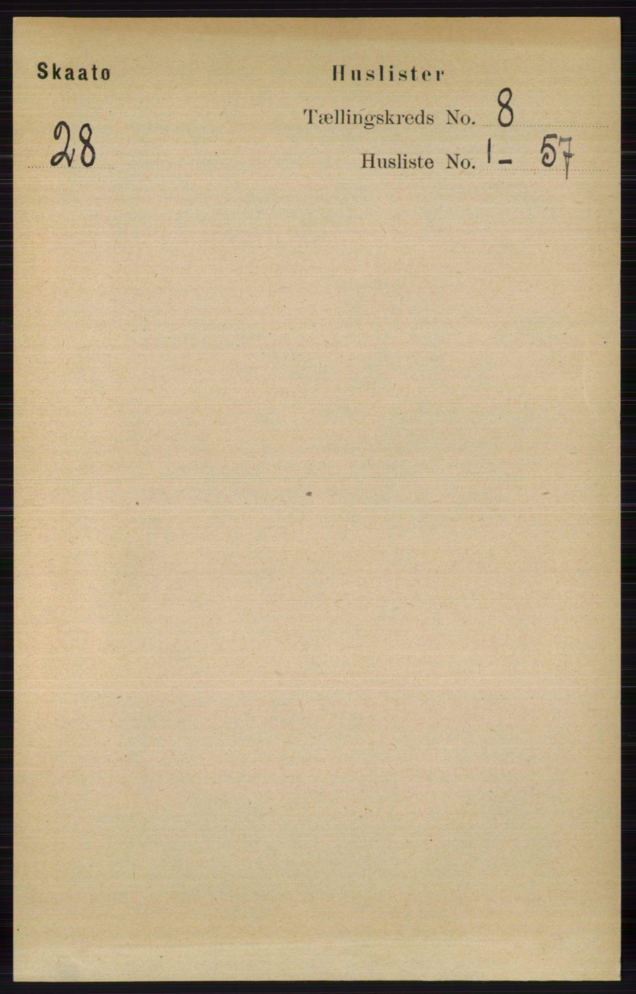RA, Folketelling 1891 for 0815 Skåtøy herred, 1891, s. 3471