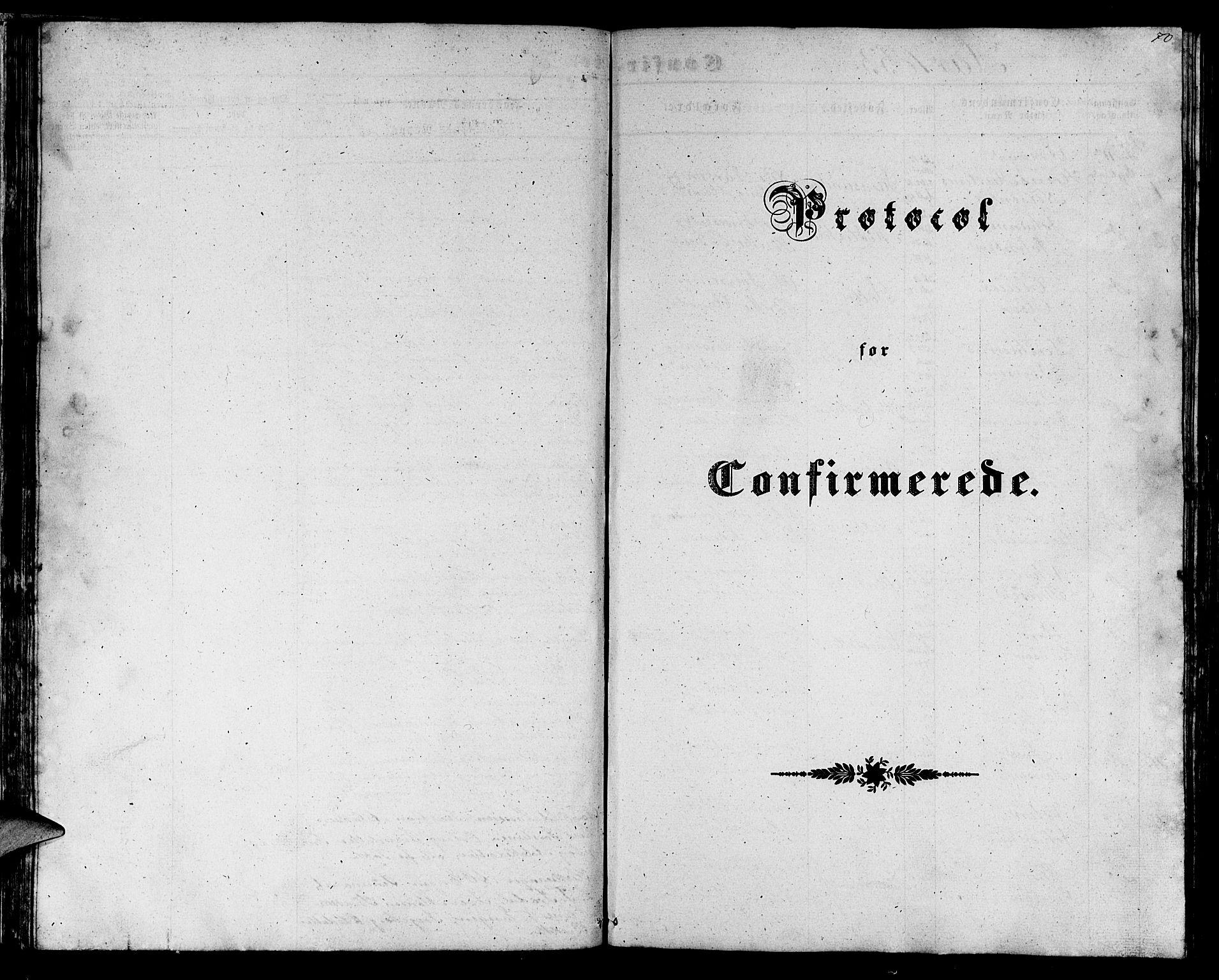 SAB, Gulen Sokneprestembete, Klokkerbok nr. C 1, 1853-1880, s. 70