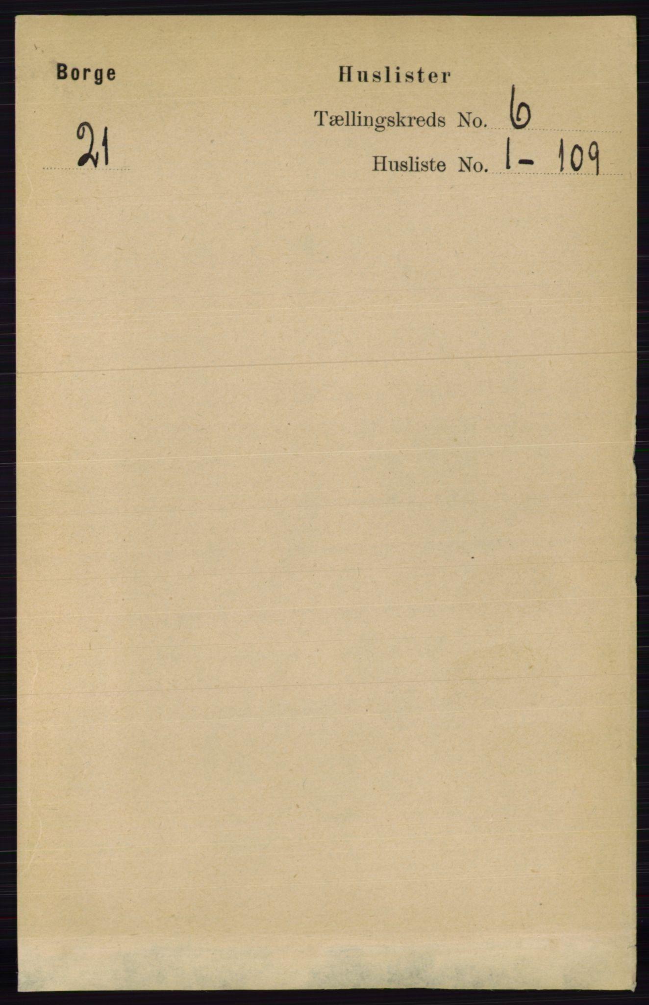 RA, Folketelling 1891 for 0113 Borge herred, 1891, s. 2924