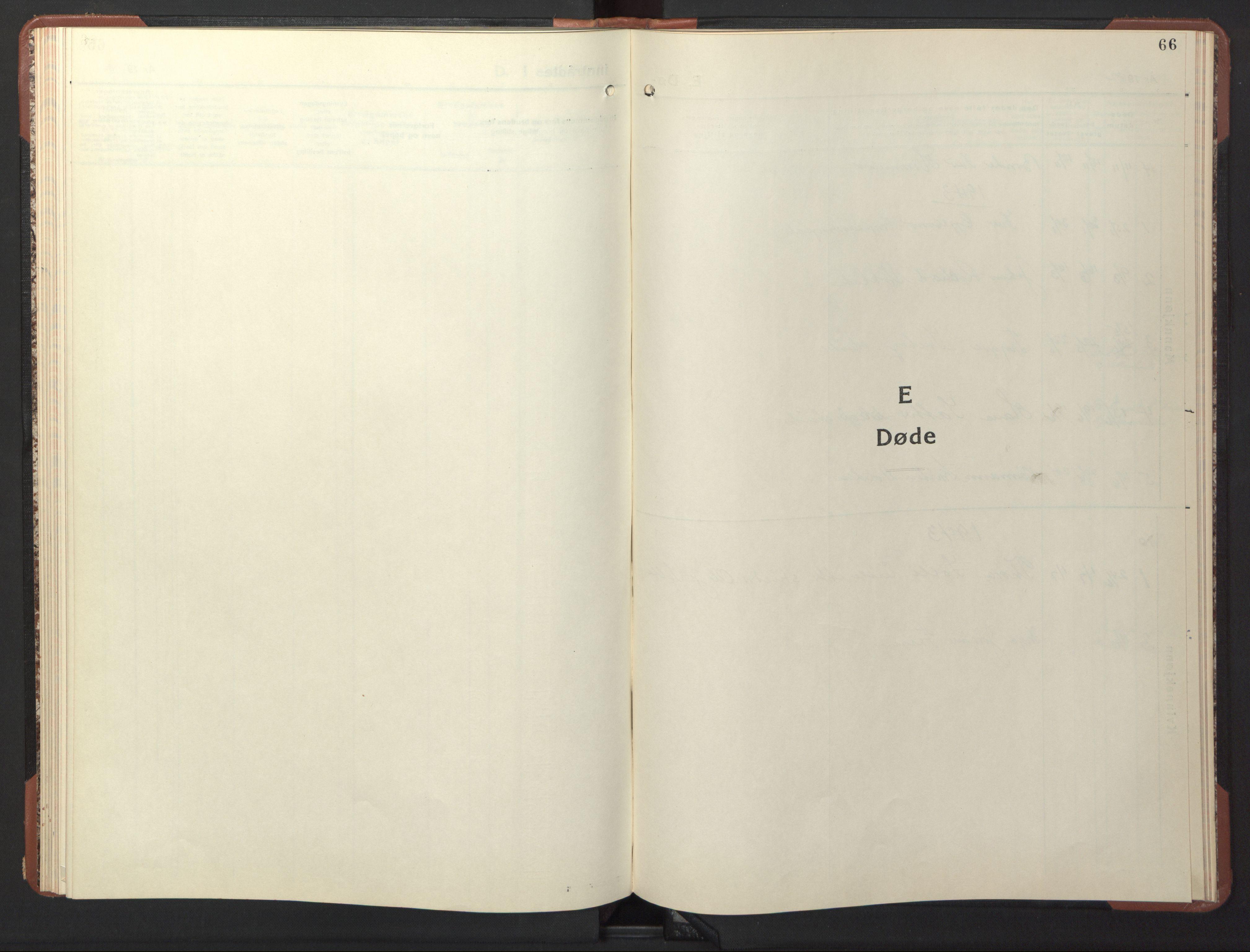 SAT, Ministerialprotokoller, klokkerbøker og fødselsregistre - Sør-Trøndelag, 617/L0433: Klokkerbok nr. 617C04, 1942-1947, s. 66