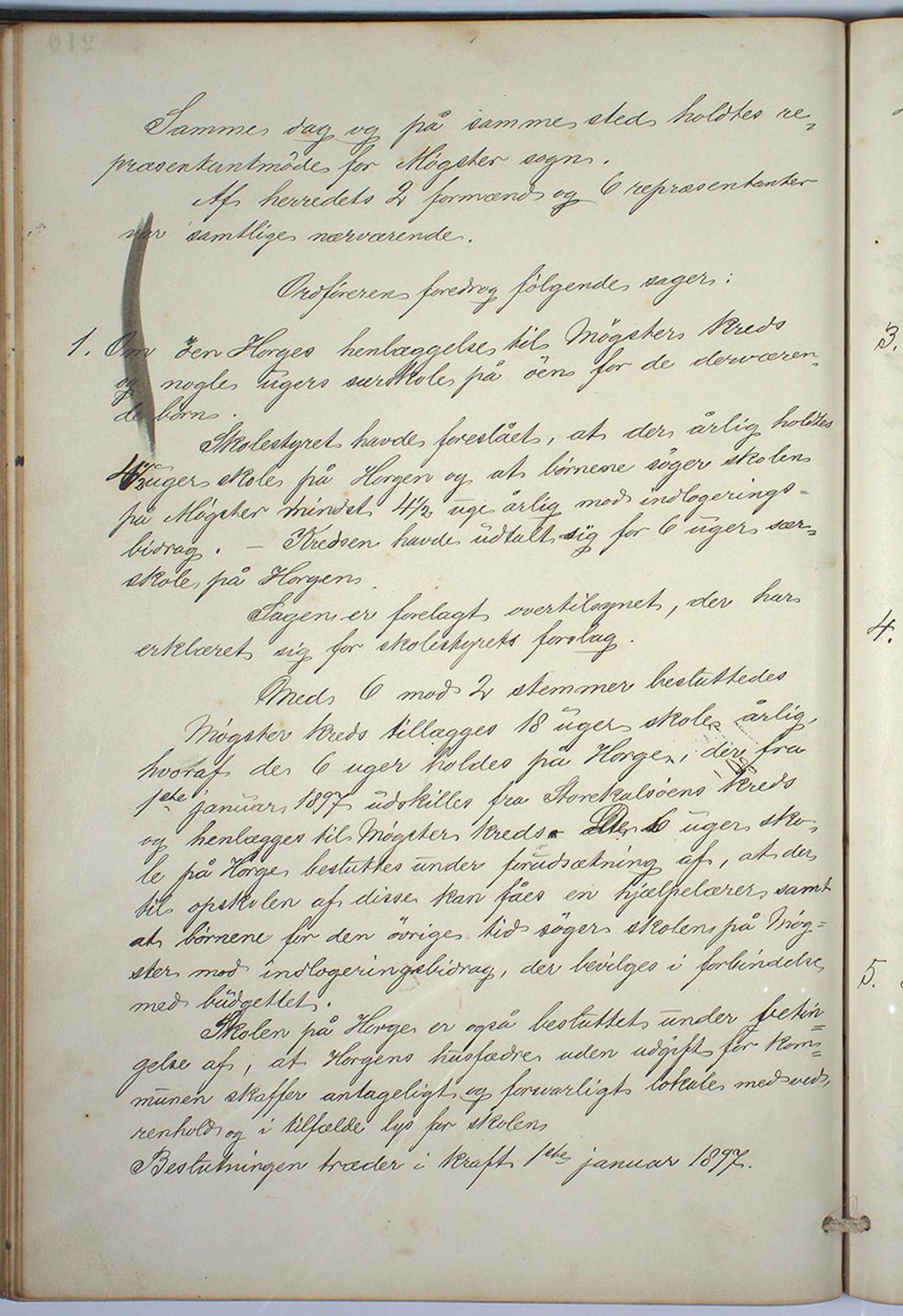IKAH, Austevoll kommune. Formannskapet, A/Aa/L0001: Østervolds Herredsforhandlings-protokoll, 1886-1900, s. 421