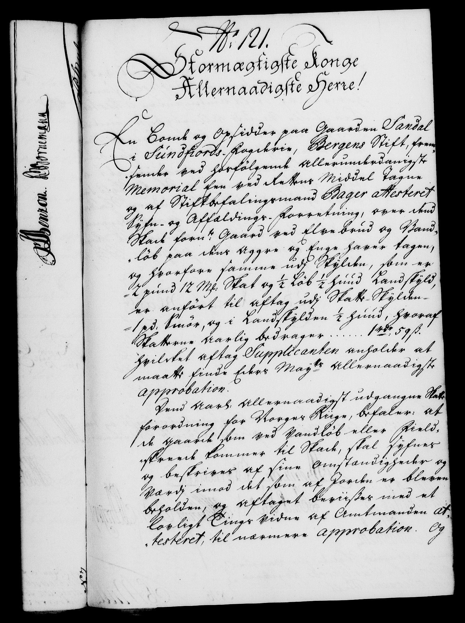RA, Rentekammeret, Kammerkanselliet, G/Gf/Gfa/L0021: Norsk relasjons- og resolusjonsprotokoll (merket RK 52.21), 1738, s. 551