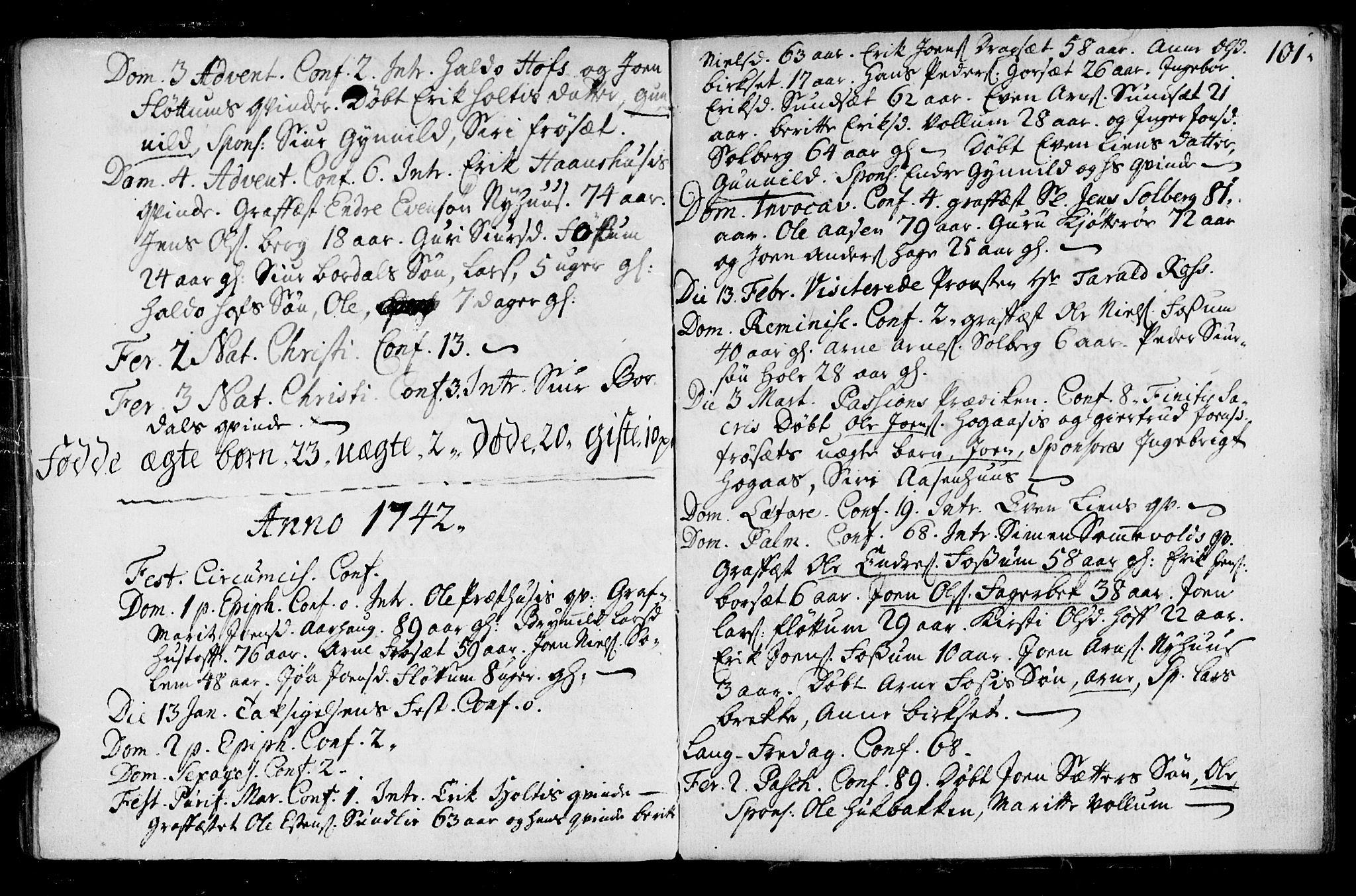 SAT, Ministerialprotokoller, klokkerbøker og fødselsregistre - Sør-Trøndelag, 689/L1036: Ministerialbok nr. 689A01, 1696-1746, s. 101